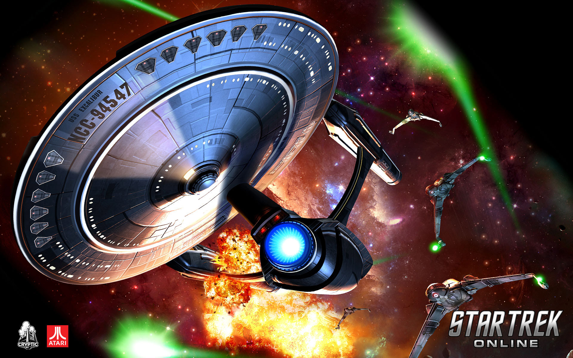 Res: 1920x1200, Star Trek Online Wallpaper