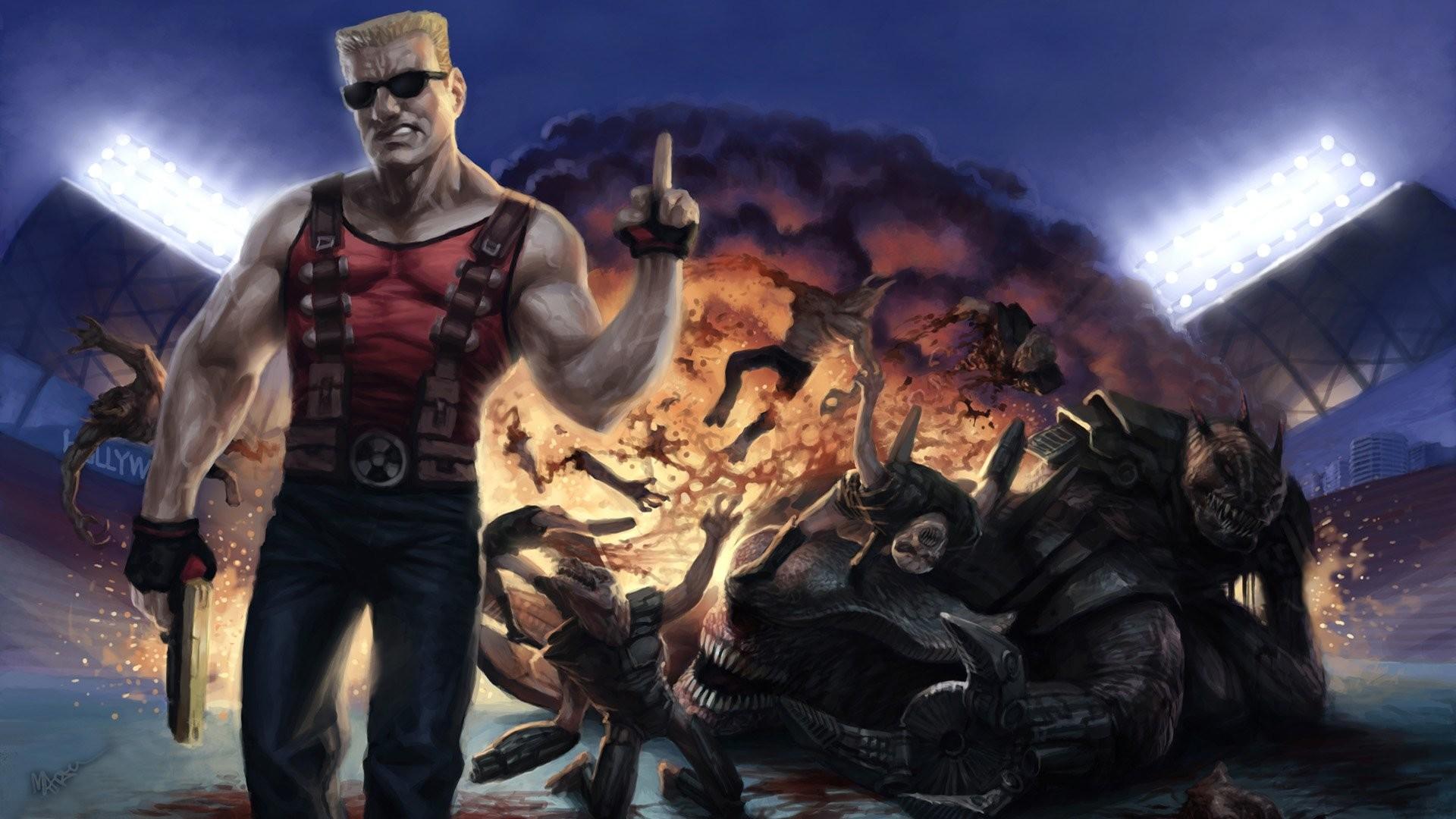 Res: 1920x1080, Computerspiele - Duke Nukem Forever Wallpaper