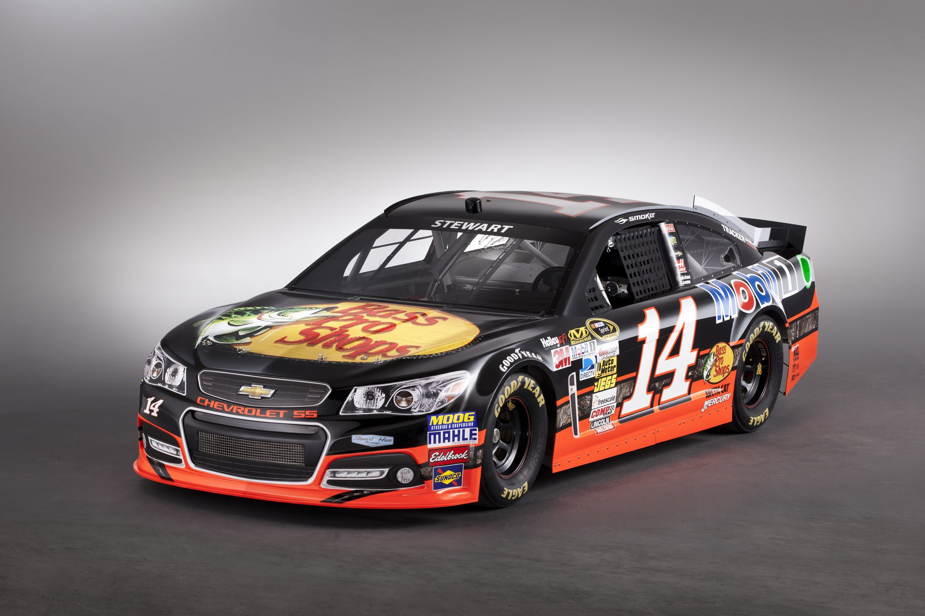 Res: 3000x2000, NASCAR Wallpapers Sprint Cup Tony Stewart Bass Pro