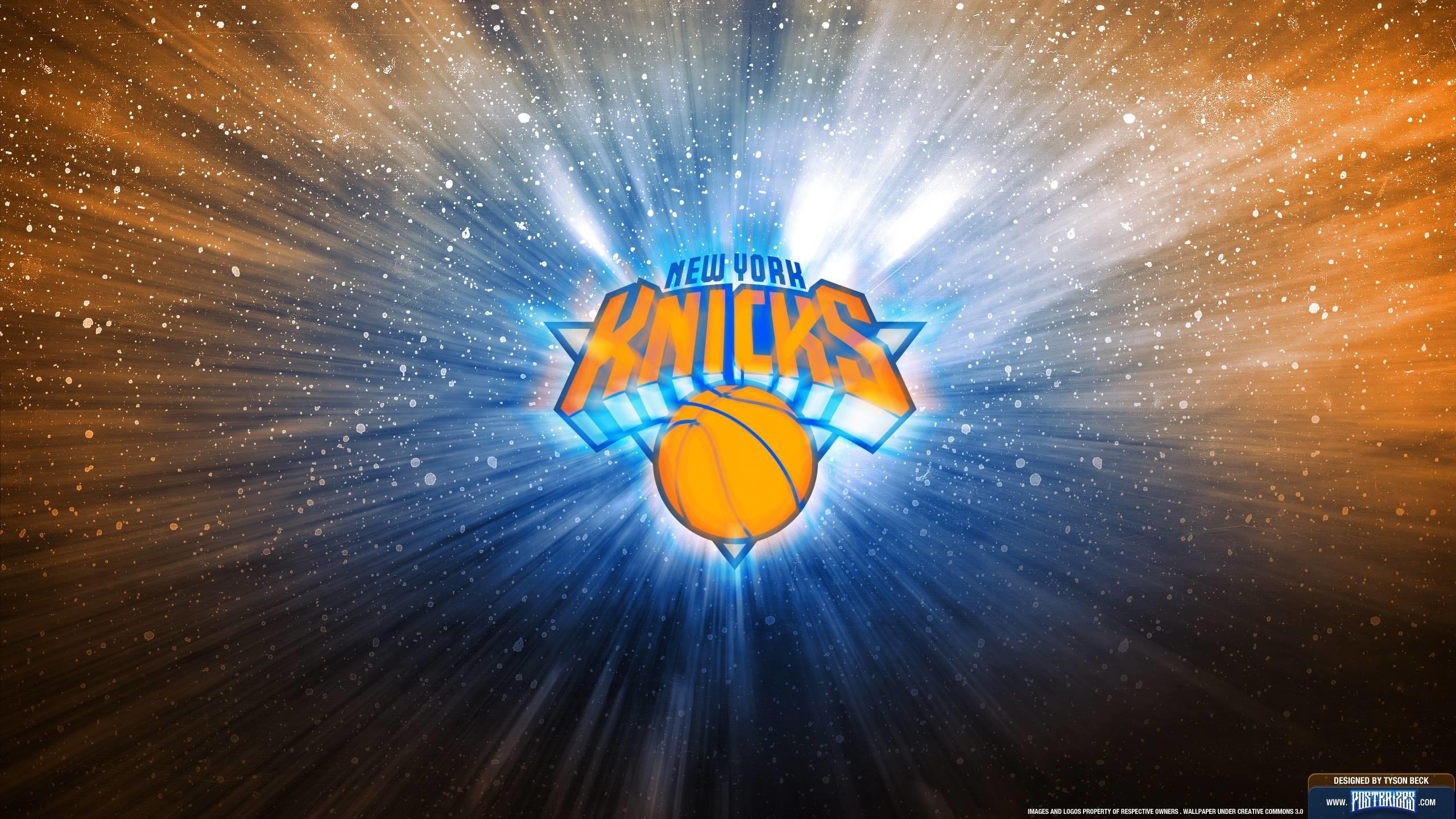 Res: 2560x1440, New York Knicks | Posterizes | NBA Wallpapers & Basketball Designs .