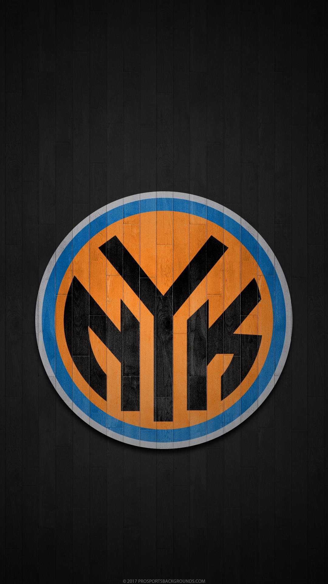 Res: 1080x1920, ... New York Knicks 2017 nba basketball hardwood team logo wallpaper for  iphone andriod and windows mobile