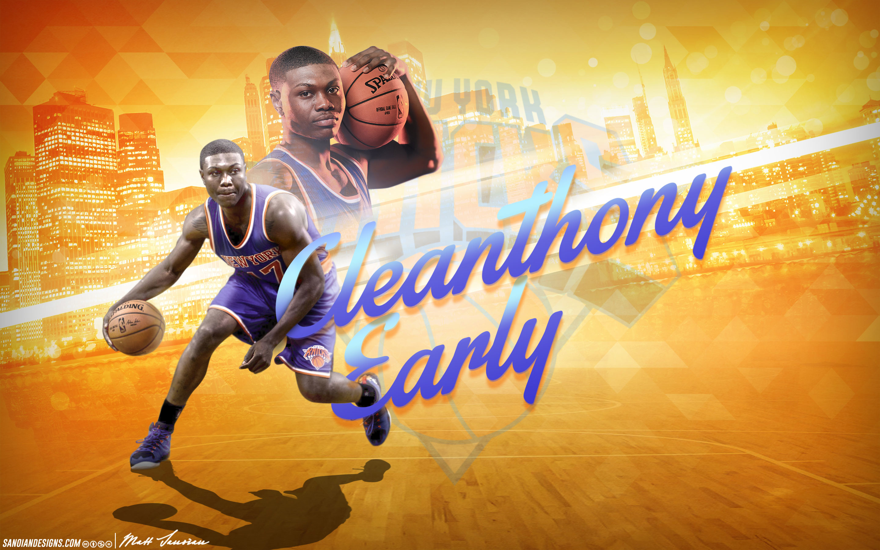 Res: 2880x1800, Cleanthony Early Knicks 2014 Wallpaper