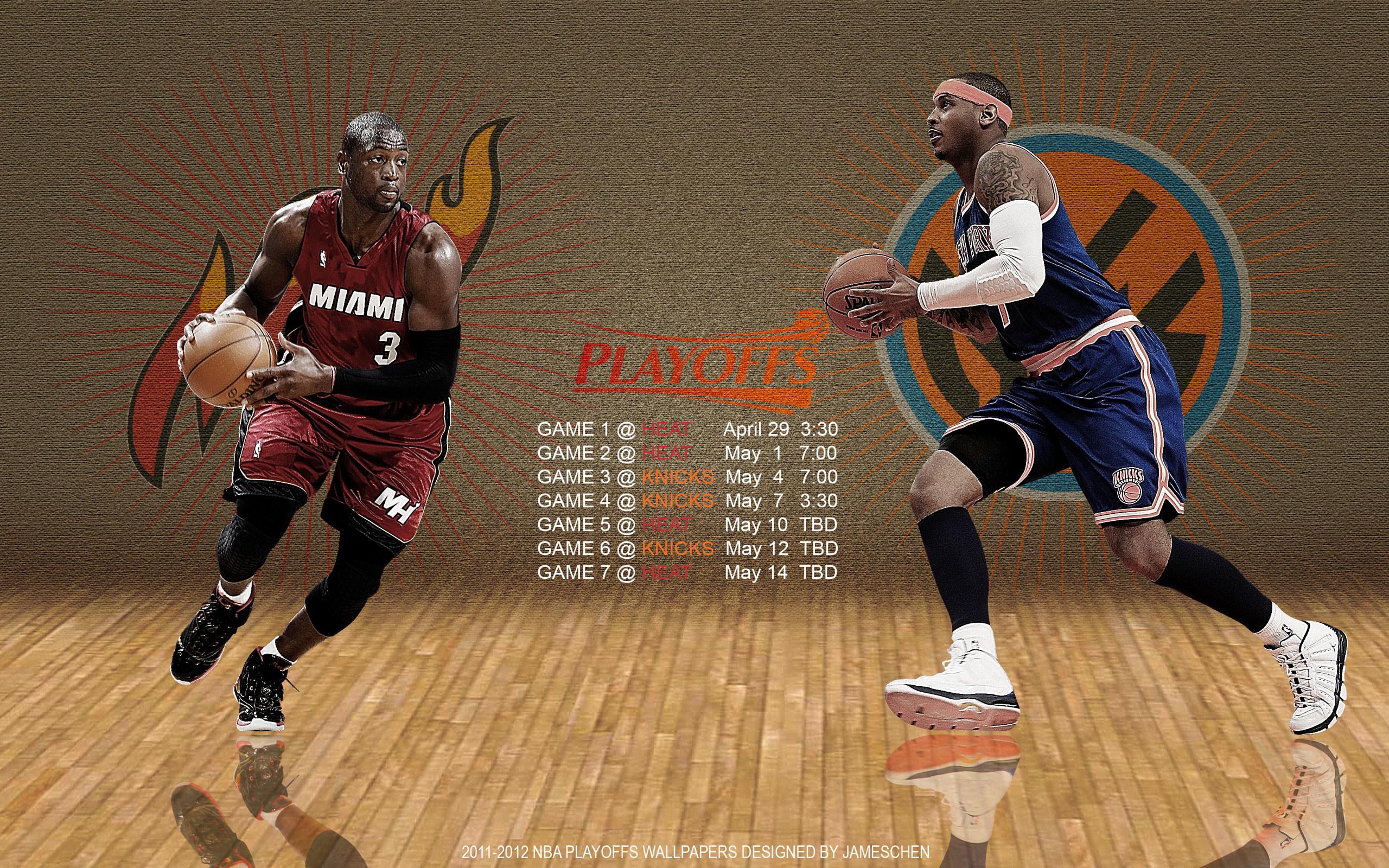 Res: 2560x1600, Heat - Knicks 2012 NBA Playoffs  Wallpaper Wallpaper