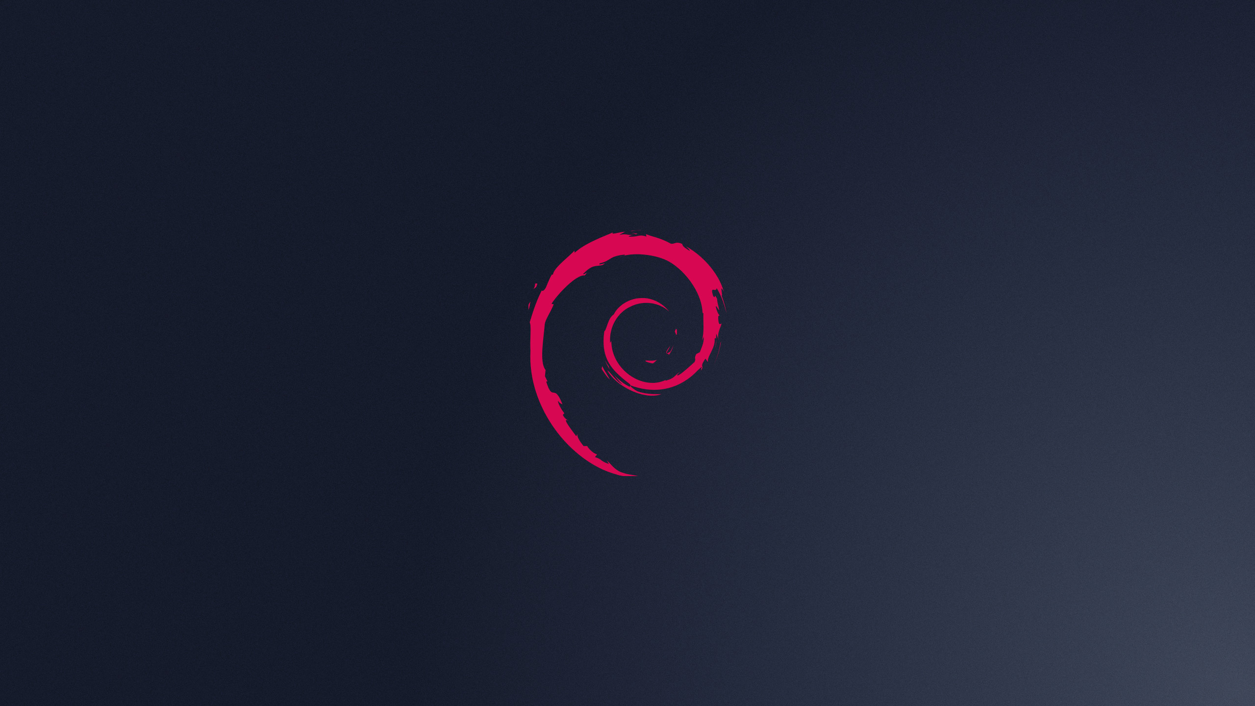 Res: 2560x1440, Free Debian Logo Wallpaper