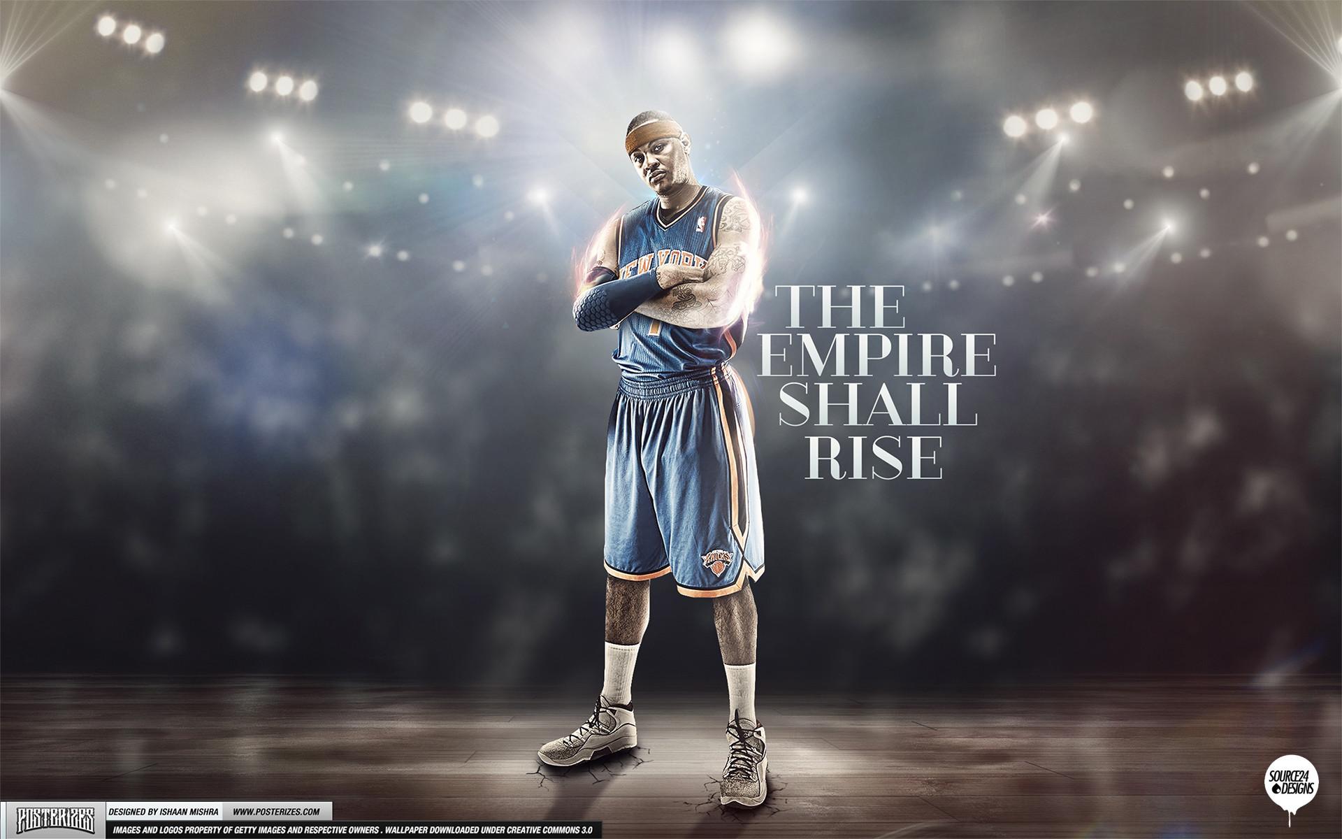 Res: 1920x1200, Carmelo Anthony Knicks Empire Wallpaper by IshaanMishra Carmelo Anthony  Knicks Empire Wallpaper by IshaanMishra
