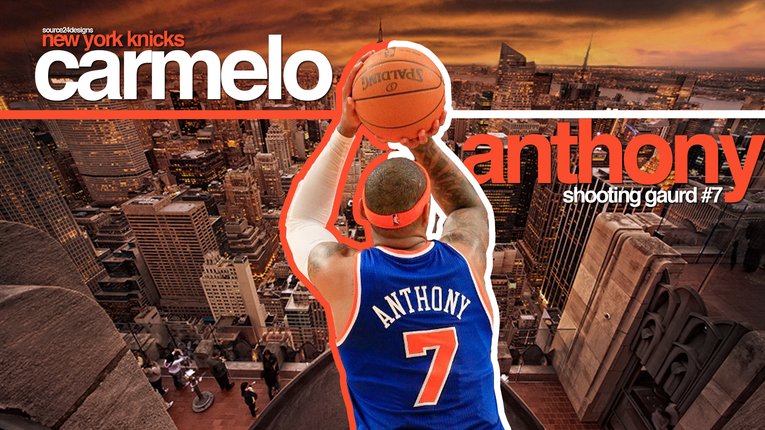 Res: 2560x1440, Carmelo Anthony Knicks Exclusive HD Wallpapers 2699