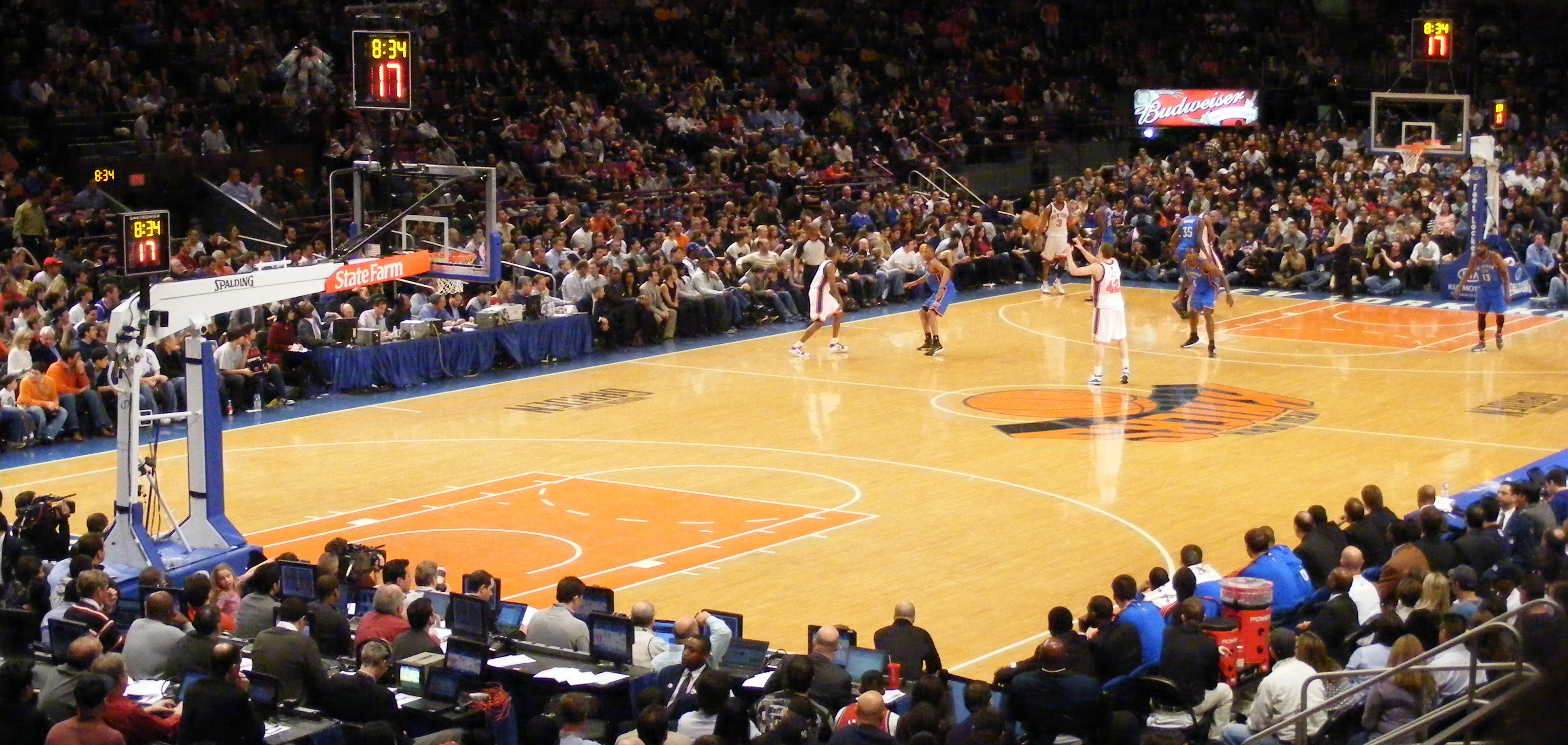 Res: 3051x1450, Madison Square Garden Knicks