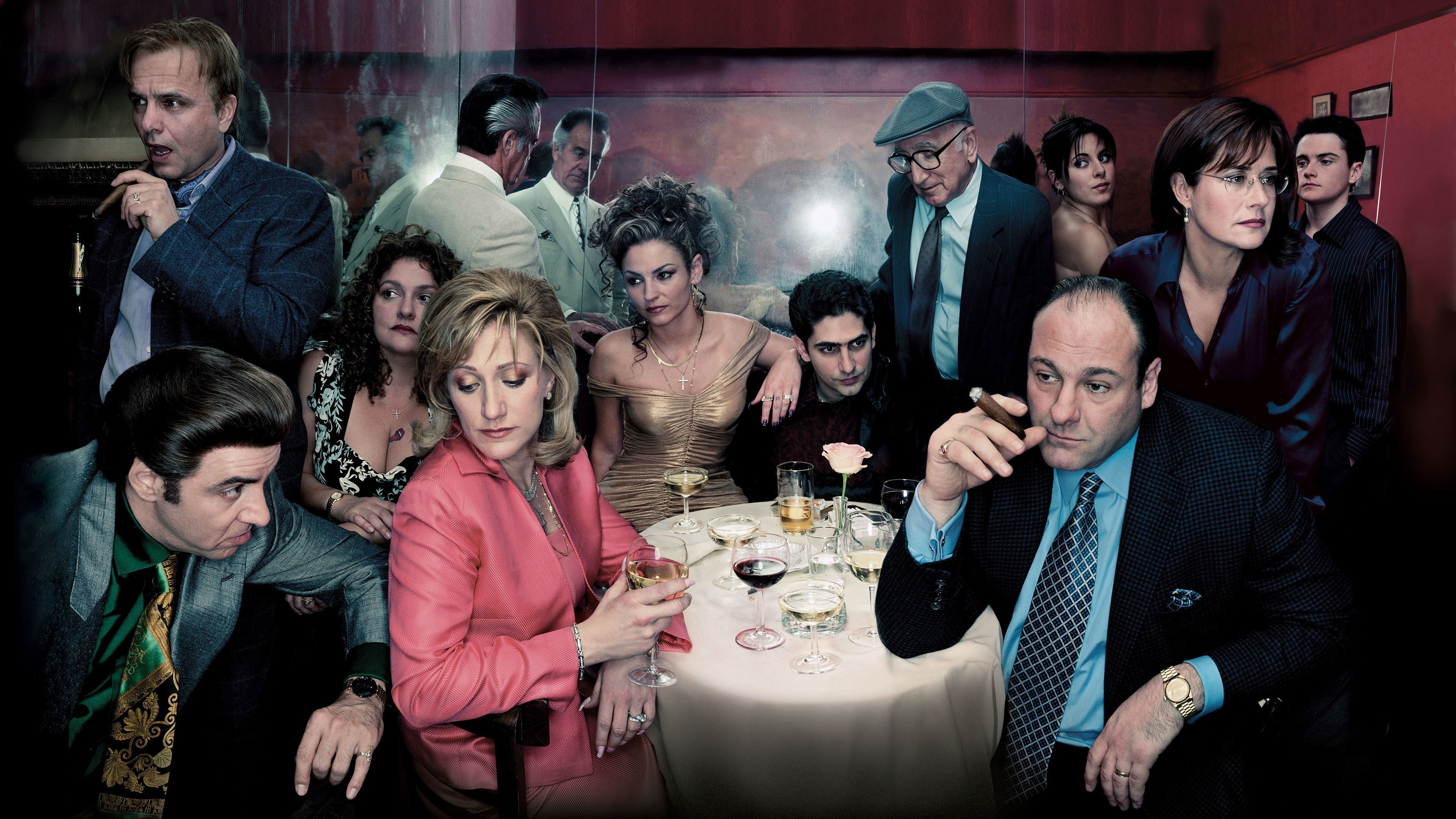 Res: 3840x2160, TV Show - The Sopranos Wallpaper