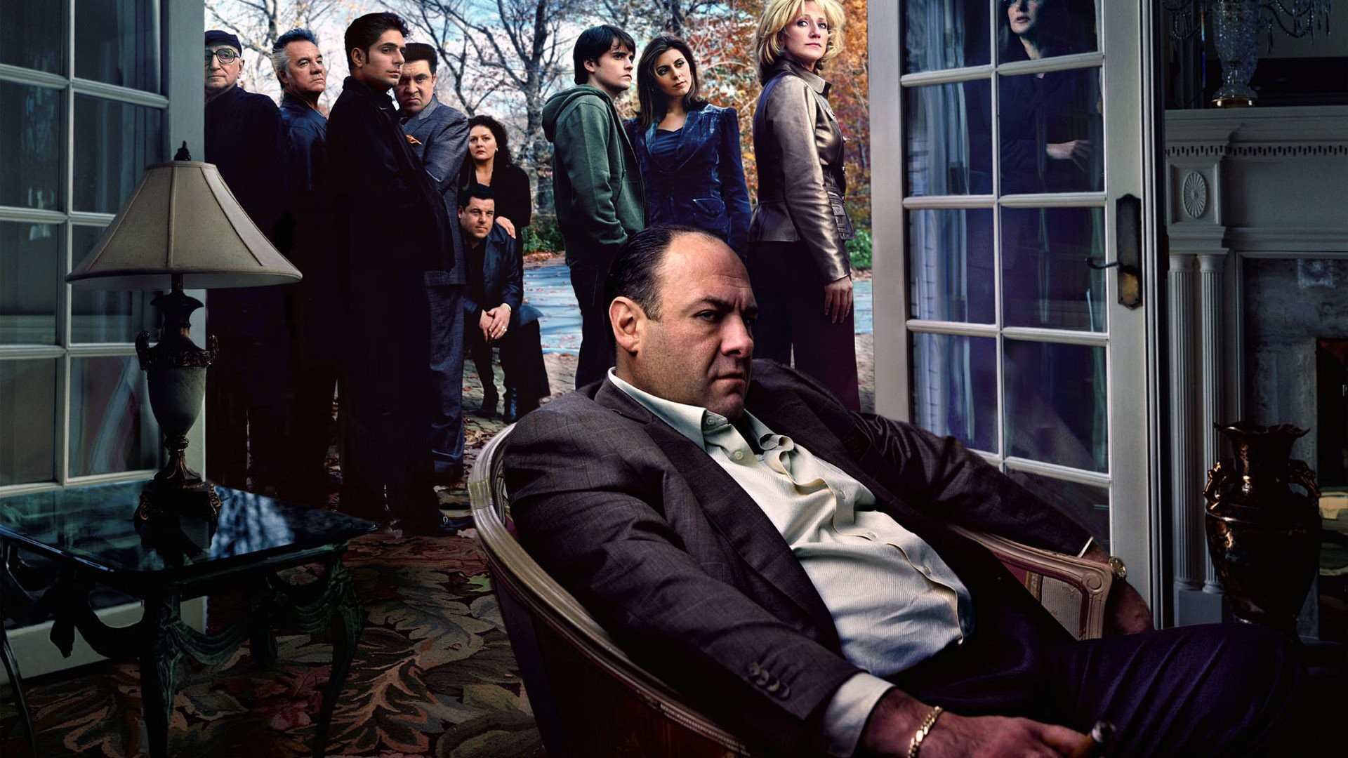 Res: 1920x1080, TV Show - The Sopranos Wallpaper
