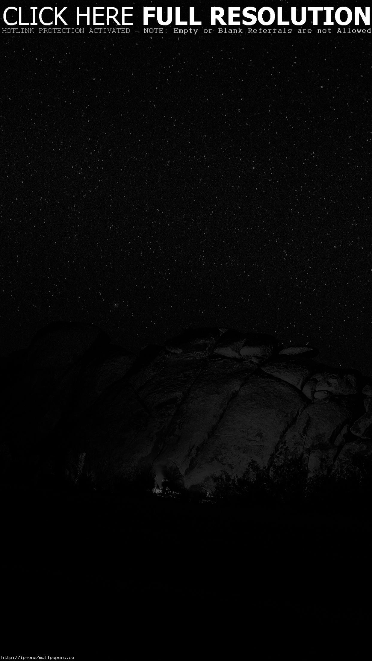 Res: 1242x2208, Mystery Rock Night Sky Star Nature Dark Android wallpaper - Android HD  wallpapers