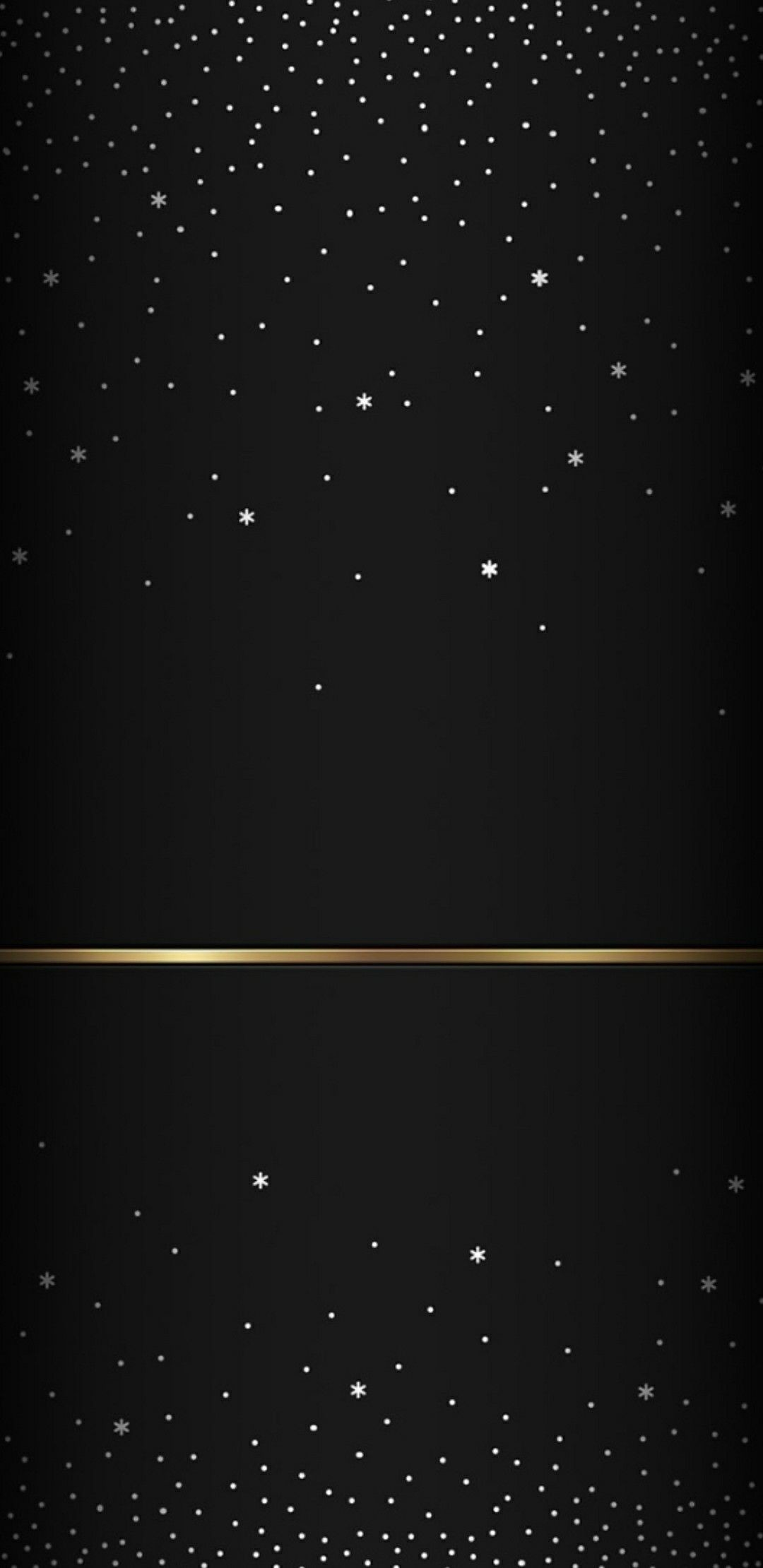 Res: 1080x2220, Black and silver sparkly