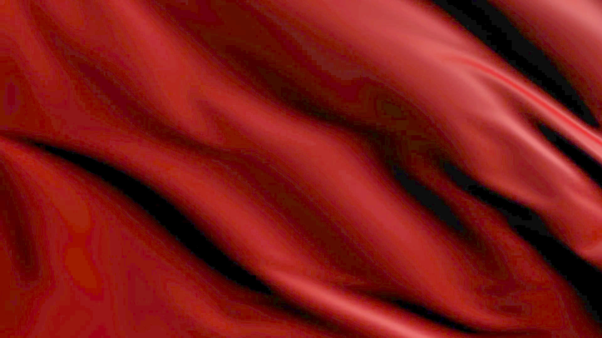 Res: 1920x1080, Luxurious red satin fabric loopable animated background Motion Background -  Videoblocks