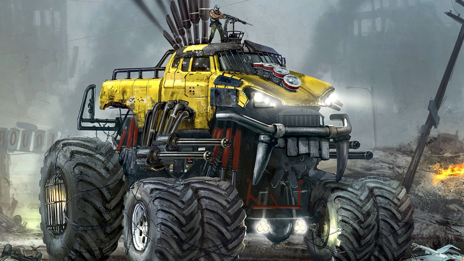 Res: 1920x1080, Monster Truck Wallpapers 6 - 1920 X 1080