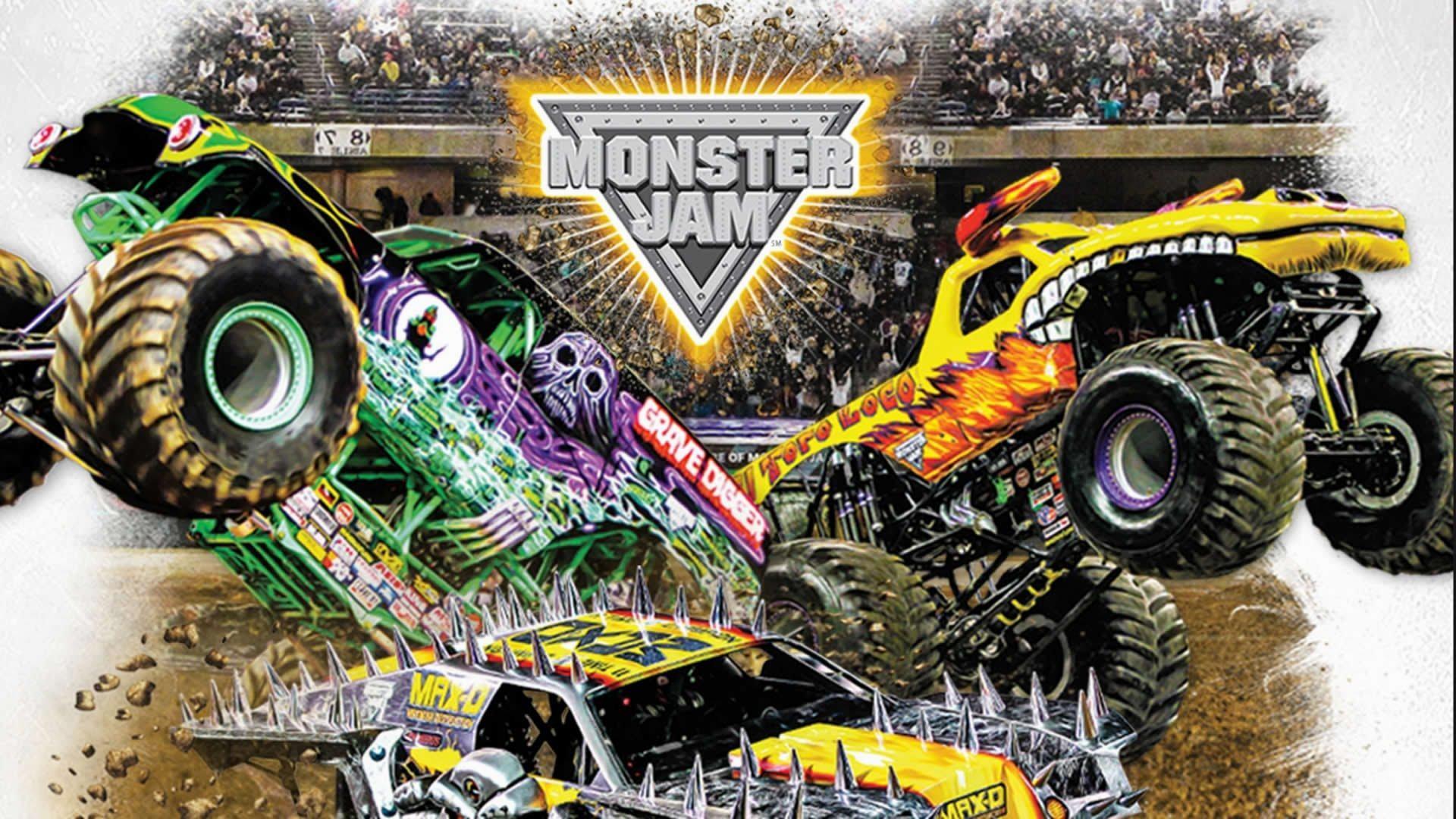 Res: 1920x1080, 7. monster-truck-wallpaper7-600x338