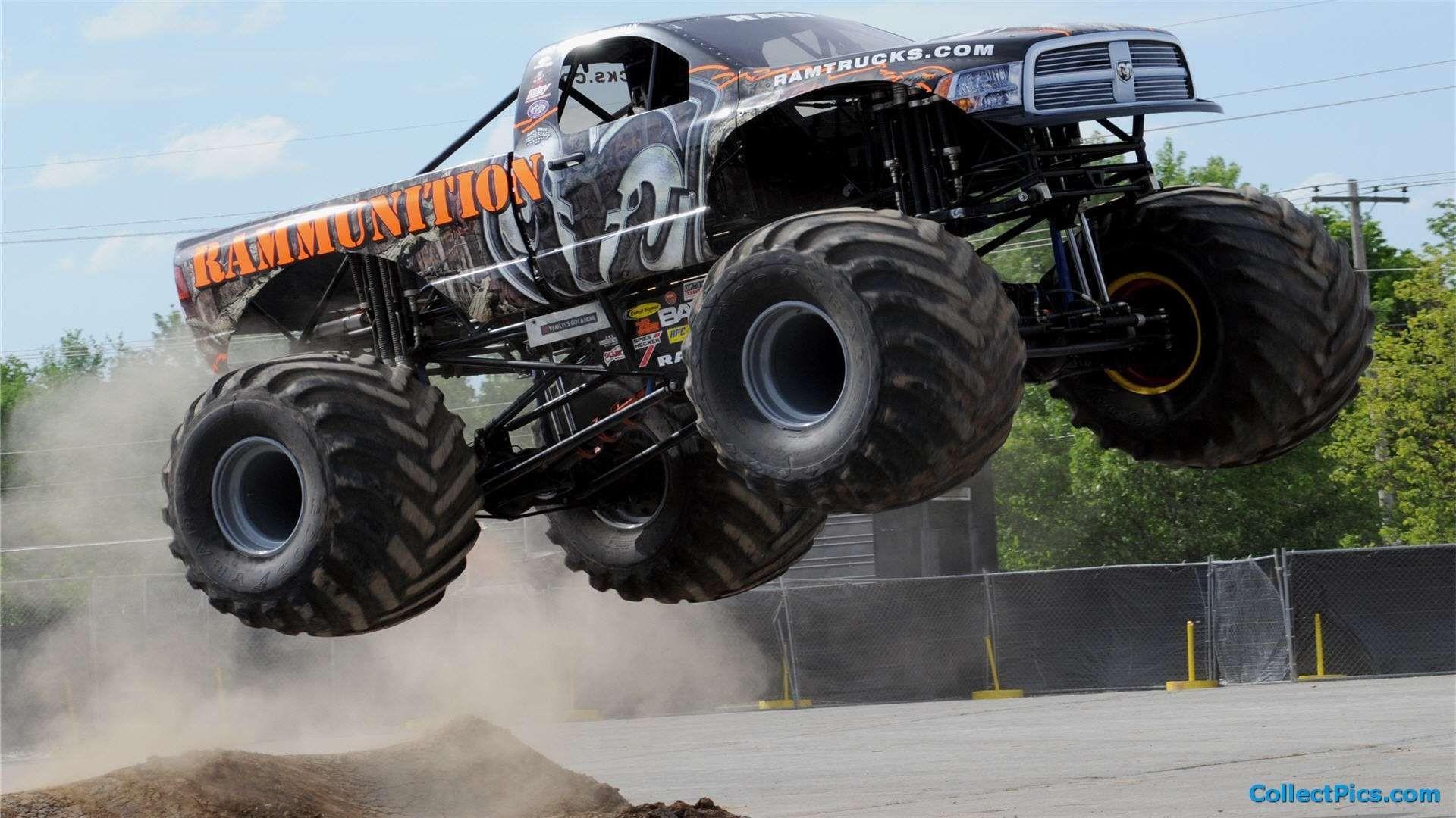 Res: 1920x1080, monster truck wallpaper images  - http://hdwallpaper.info/monster-