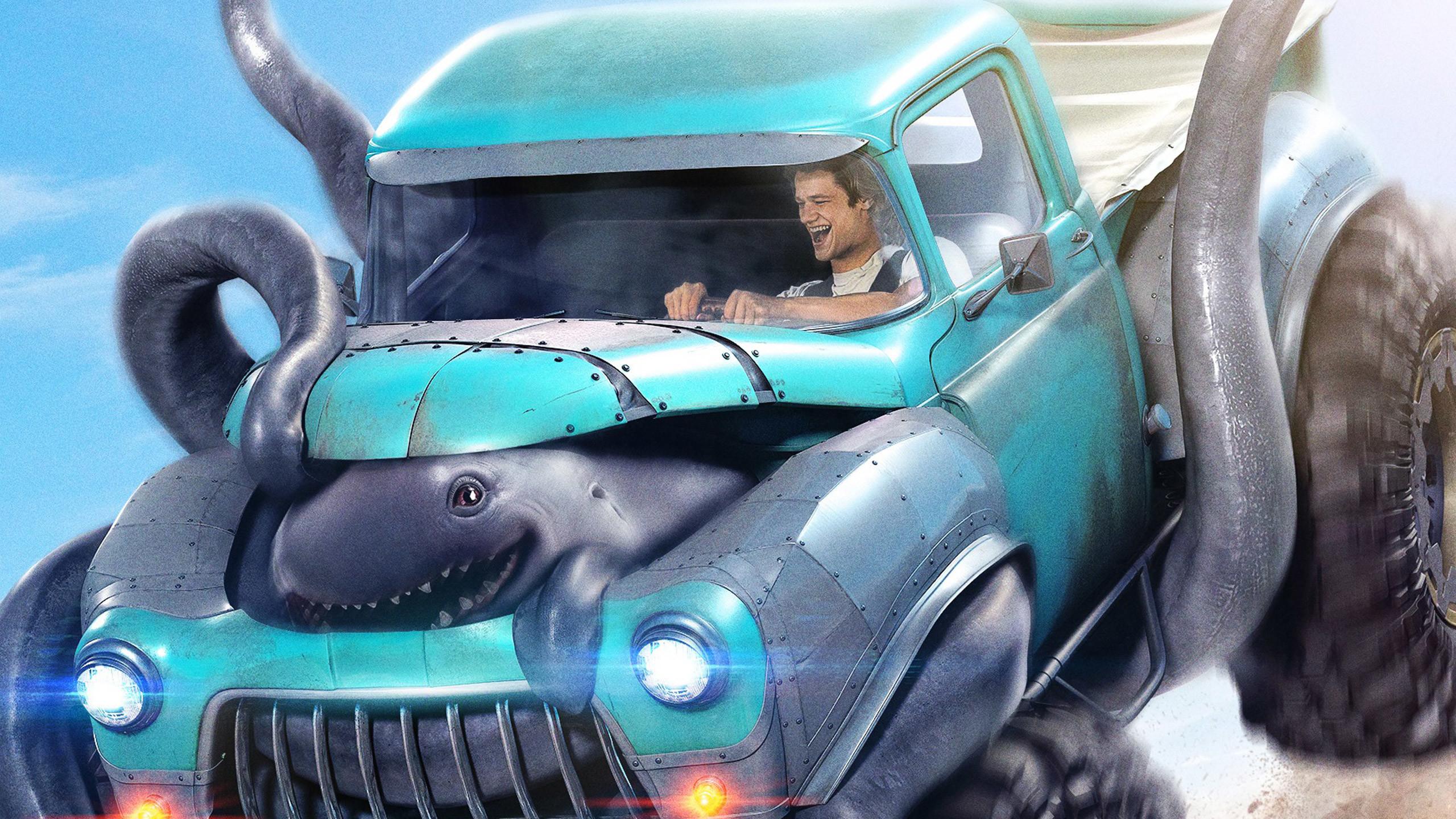 Res: 2560x1440, Monster Trucks 2017 Movie