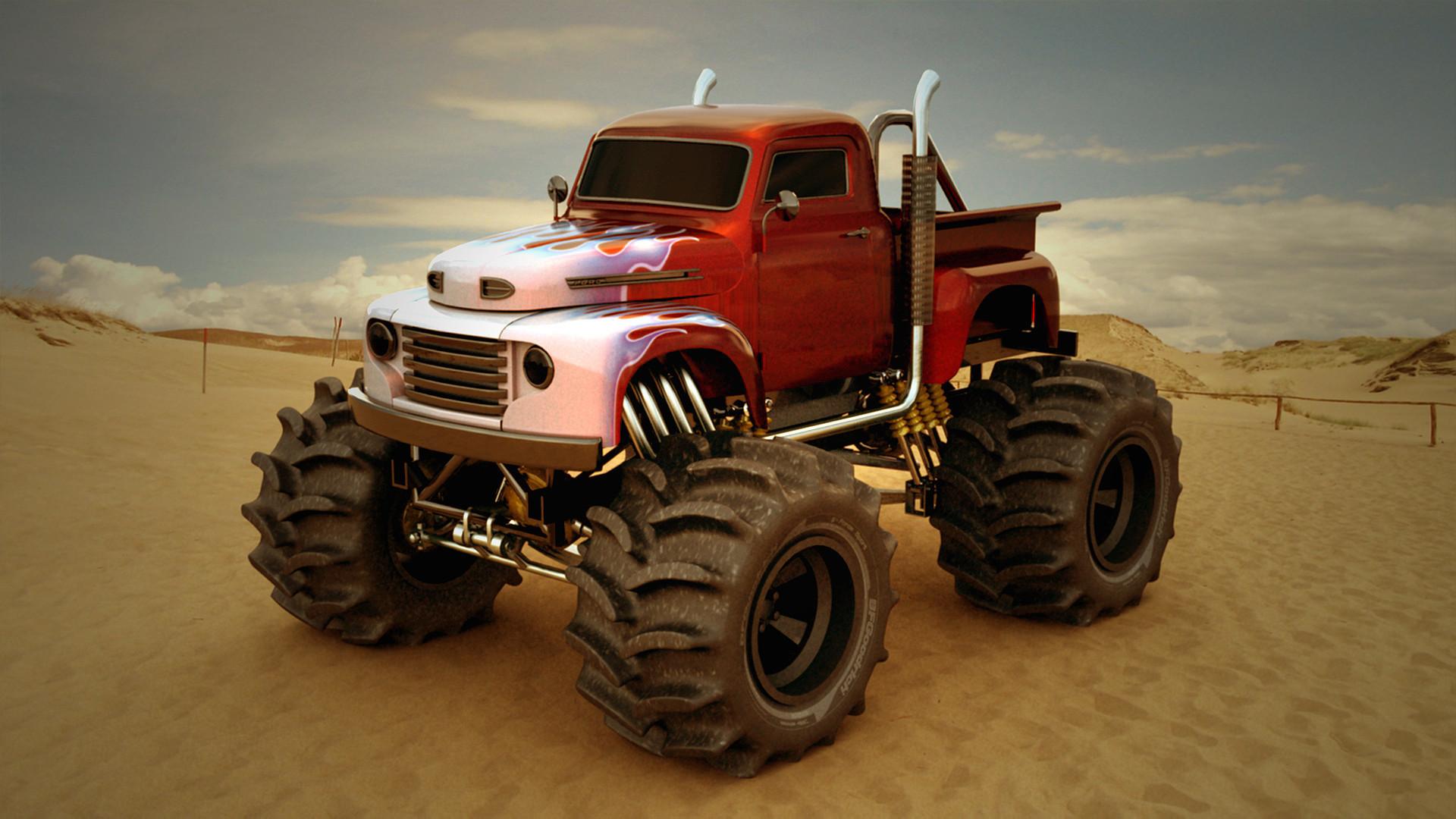 Res: 1920x1080,  Download Monster Truck Wallpaper HD Gallery . Download · 1920x1200
