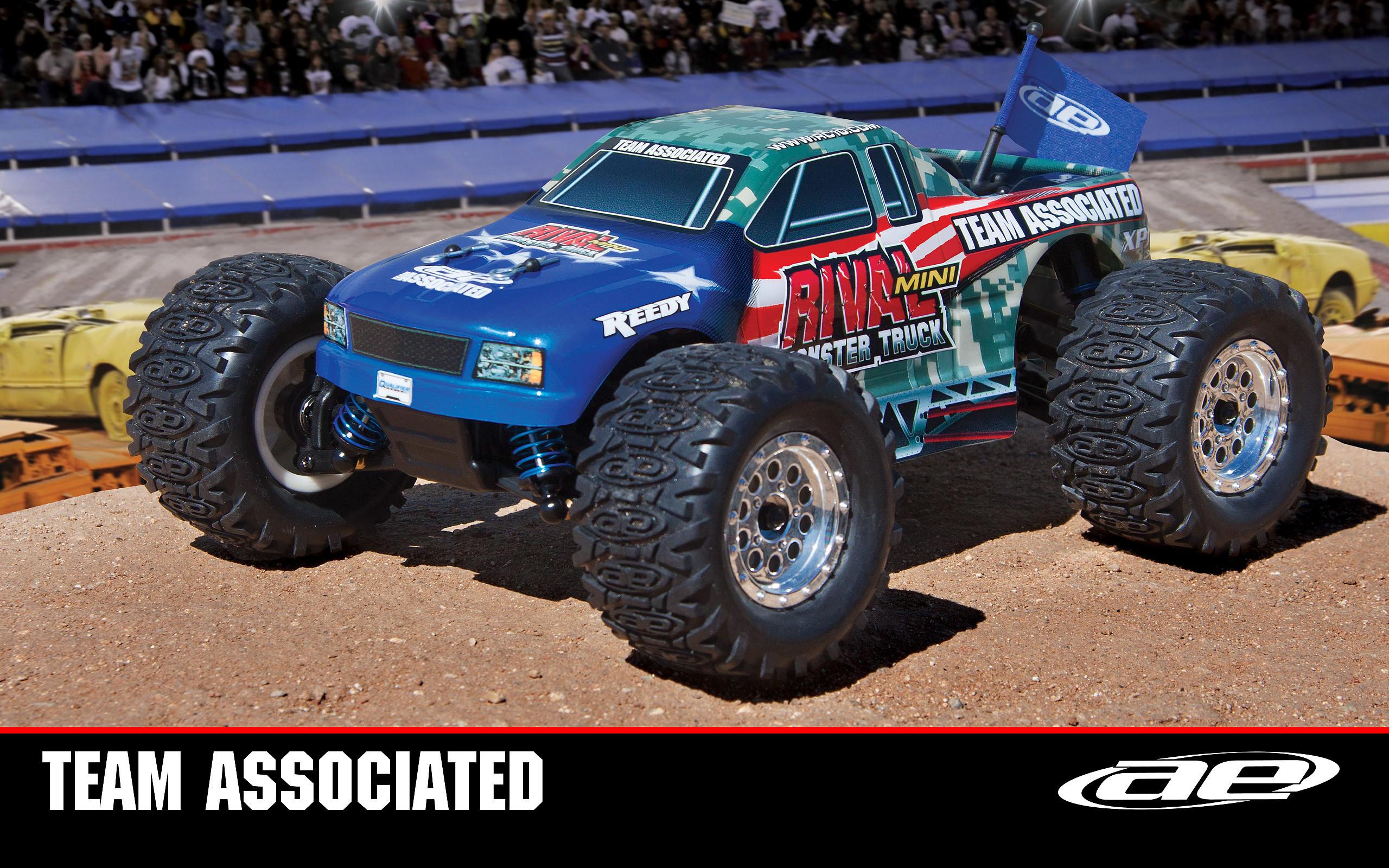 Res: 2560x1600, Rival Mini Monster Truck