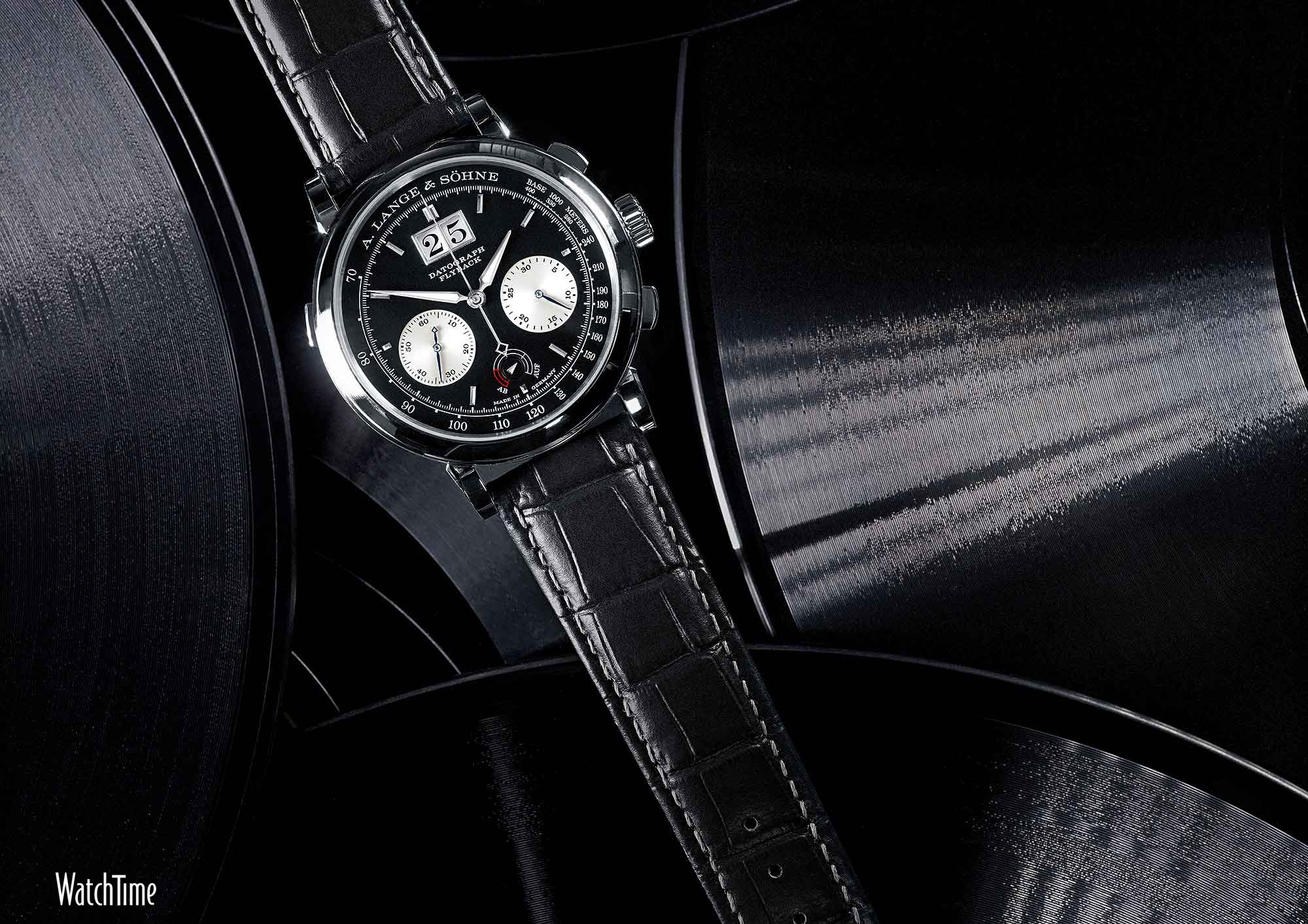 Res: 2000x1414, A. Lange & Sohne Datograph Up/Down - black
