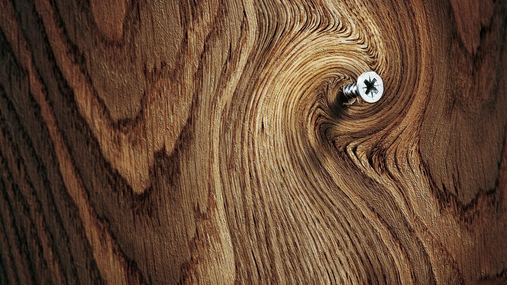 Res: 1920x1080, Screw In Wood Wallpaper HD