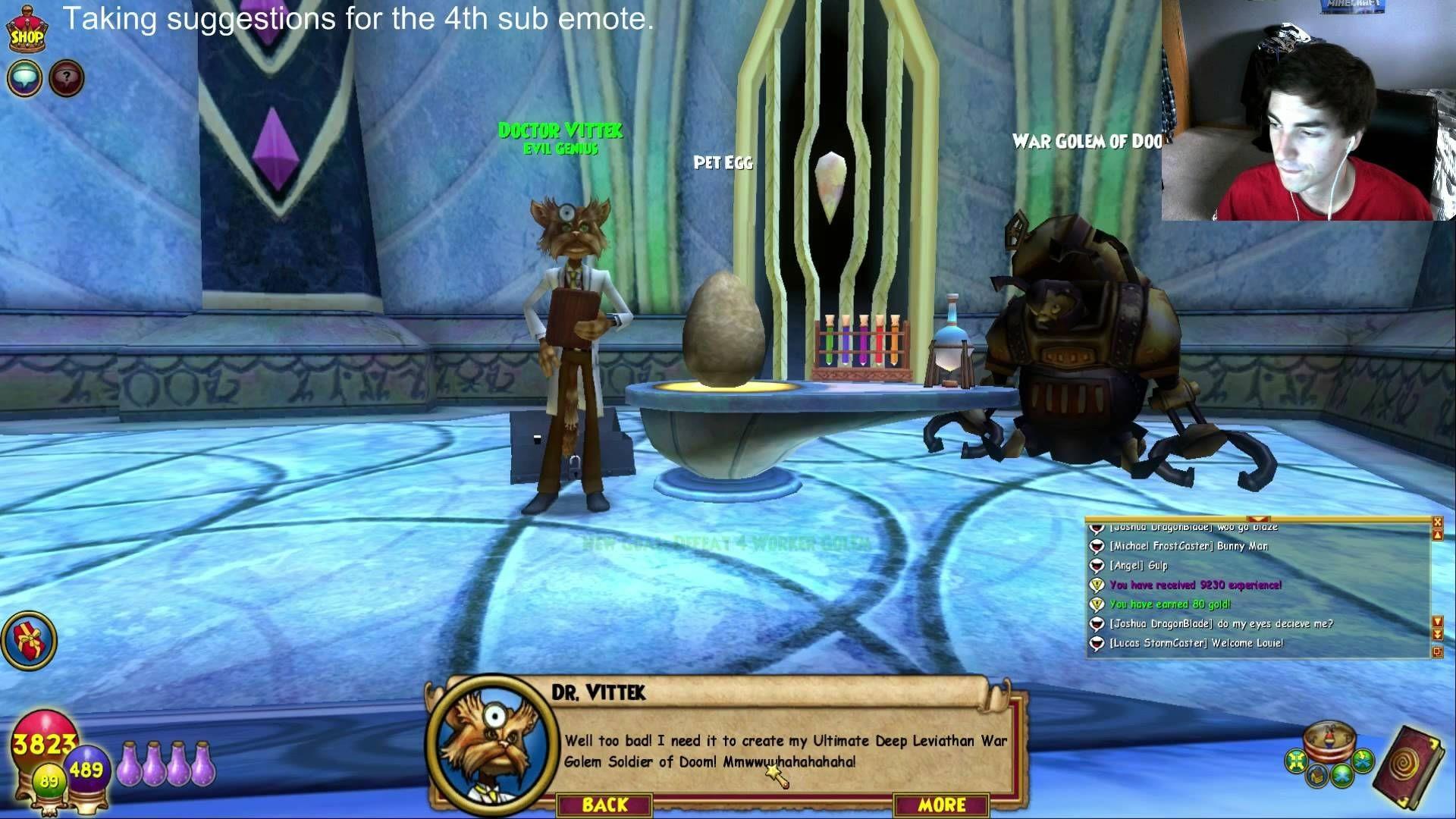 Res: 1920x1080, Wizard101: Lvl 98 Storm Pet Quest (Livestream Highlight)