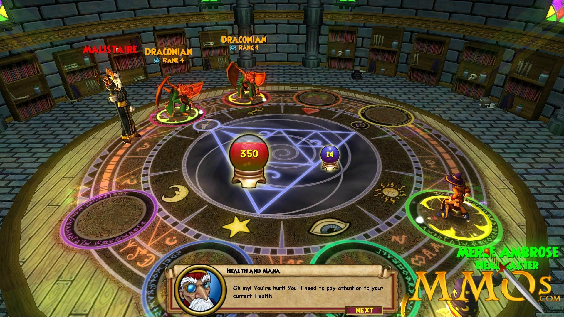 Res: 1920x1080, Wizard101 battle
