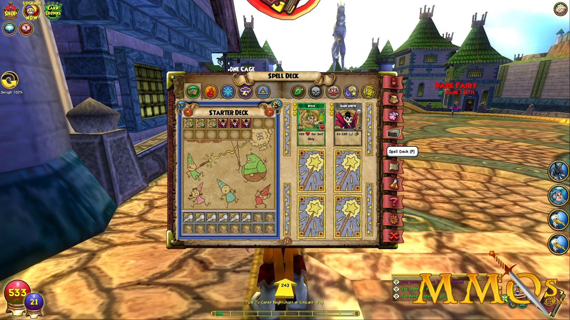 Res: 1920x1080, Wizard101 spell deck