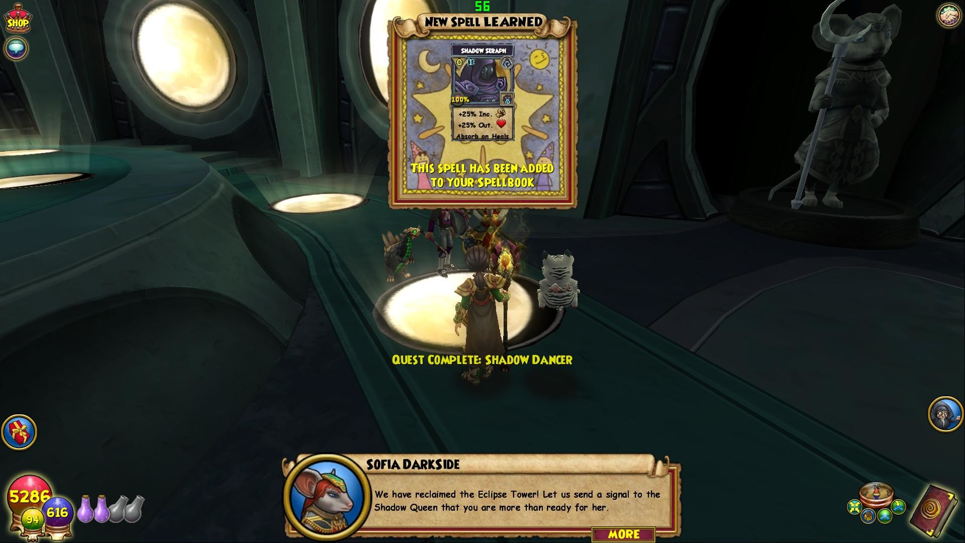 Res: 1920x1080, Wizard101 - My First Shadow Spell!