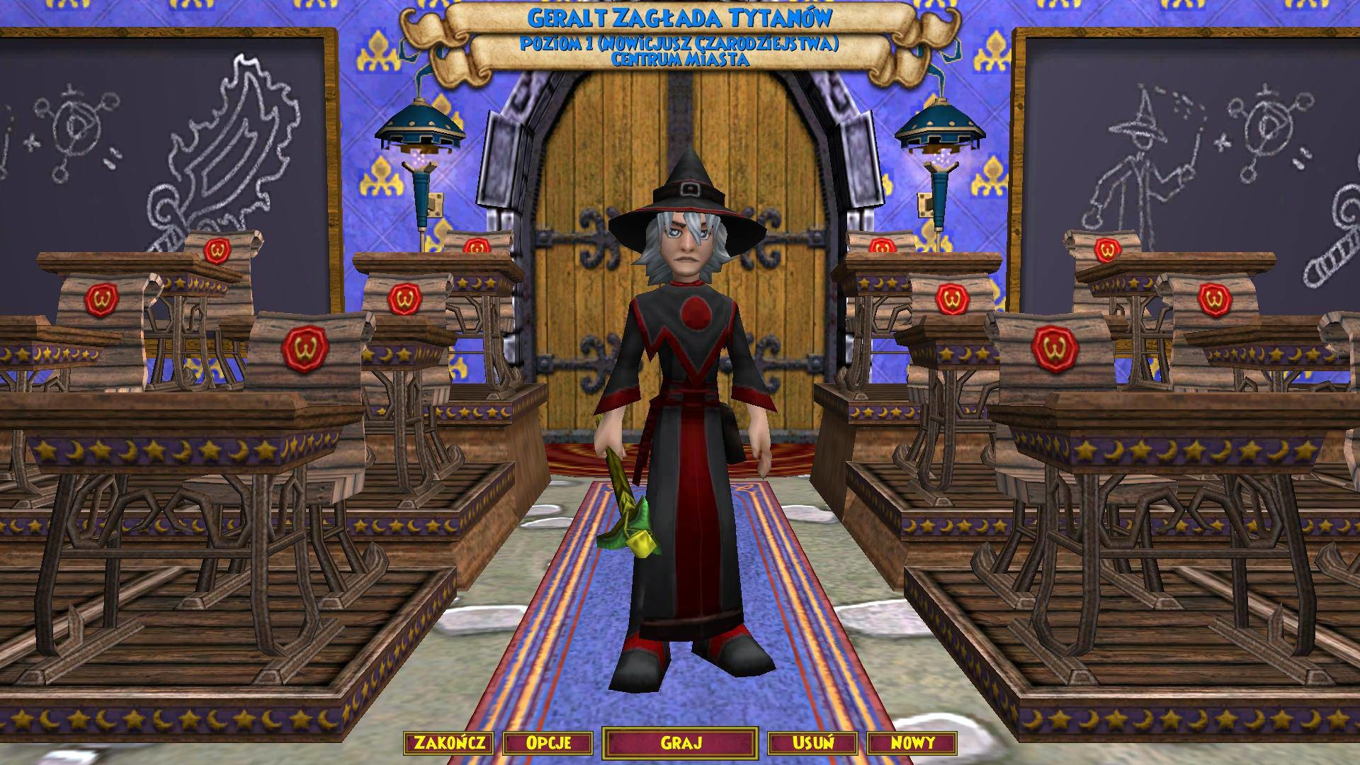 Res: 1920x1080, Wizard 101 Class Room ...