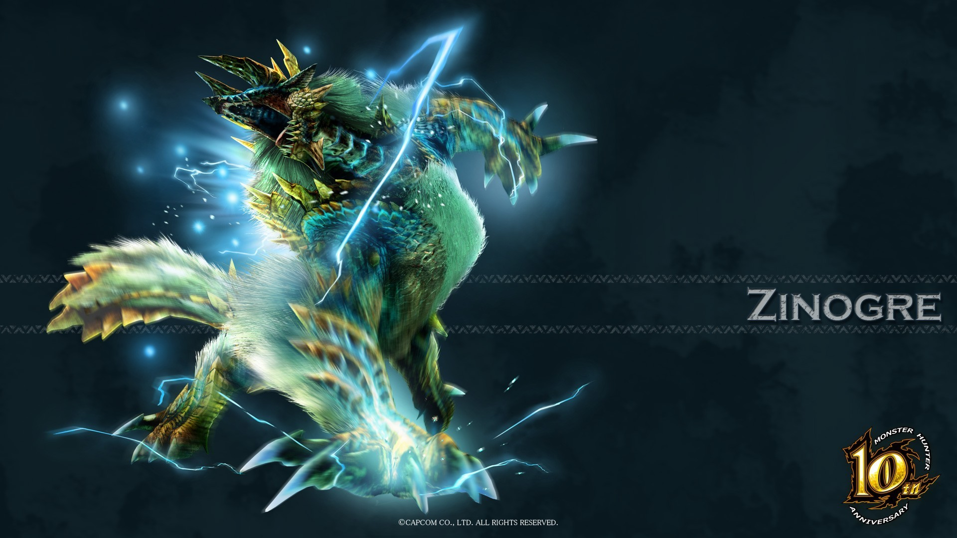 Res: 1920x1080, Zinogre of the game Monster Hunter wallpapers and images .