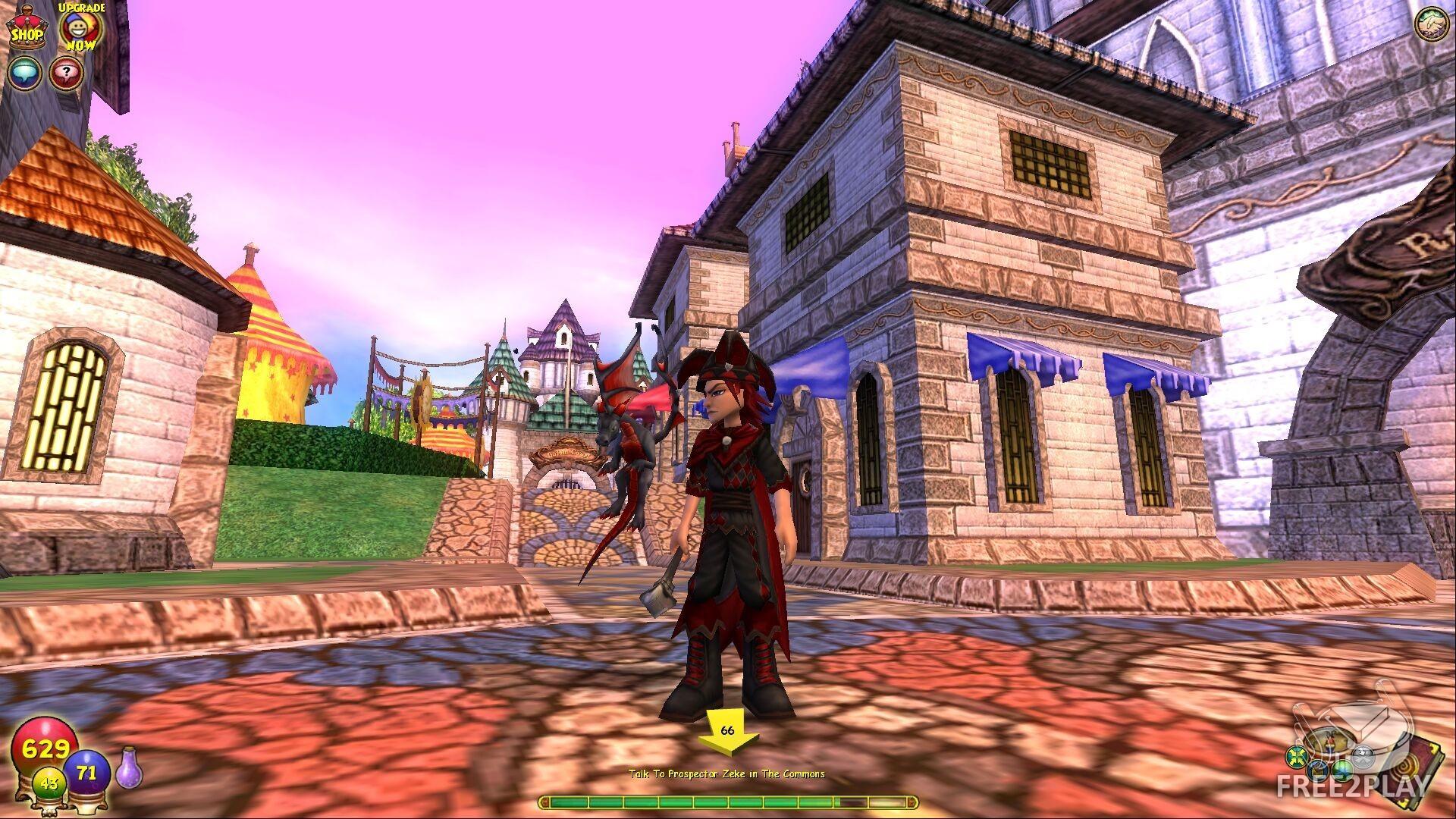 Res: 1920x1080, Wizard 101 screenshot ...