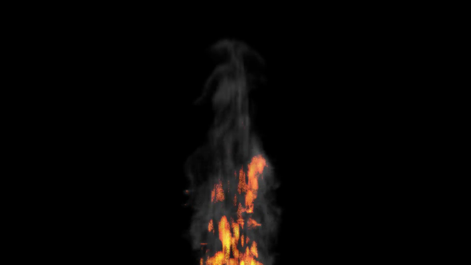 Res: 1920x1080, Animated realistic fire with smoke on transparent background (Alpha channel  embedded with HD PNG file). Motion Background - Videoblocks