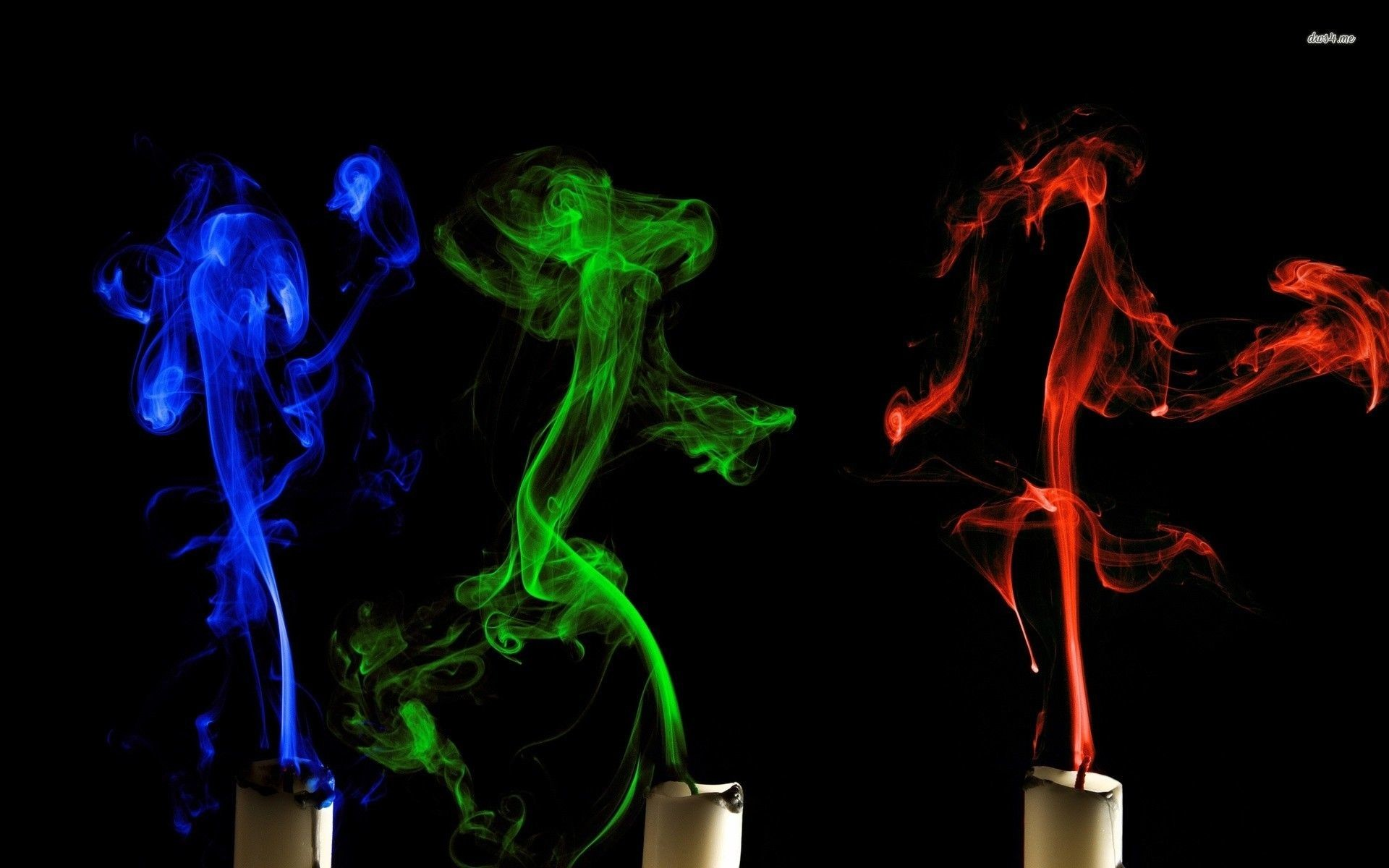 Res: 1920x1200, Colorful candle smoke wallpaper | Wallpaper Wide HD