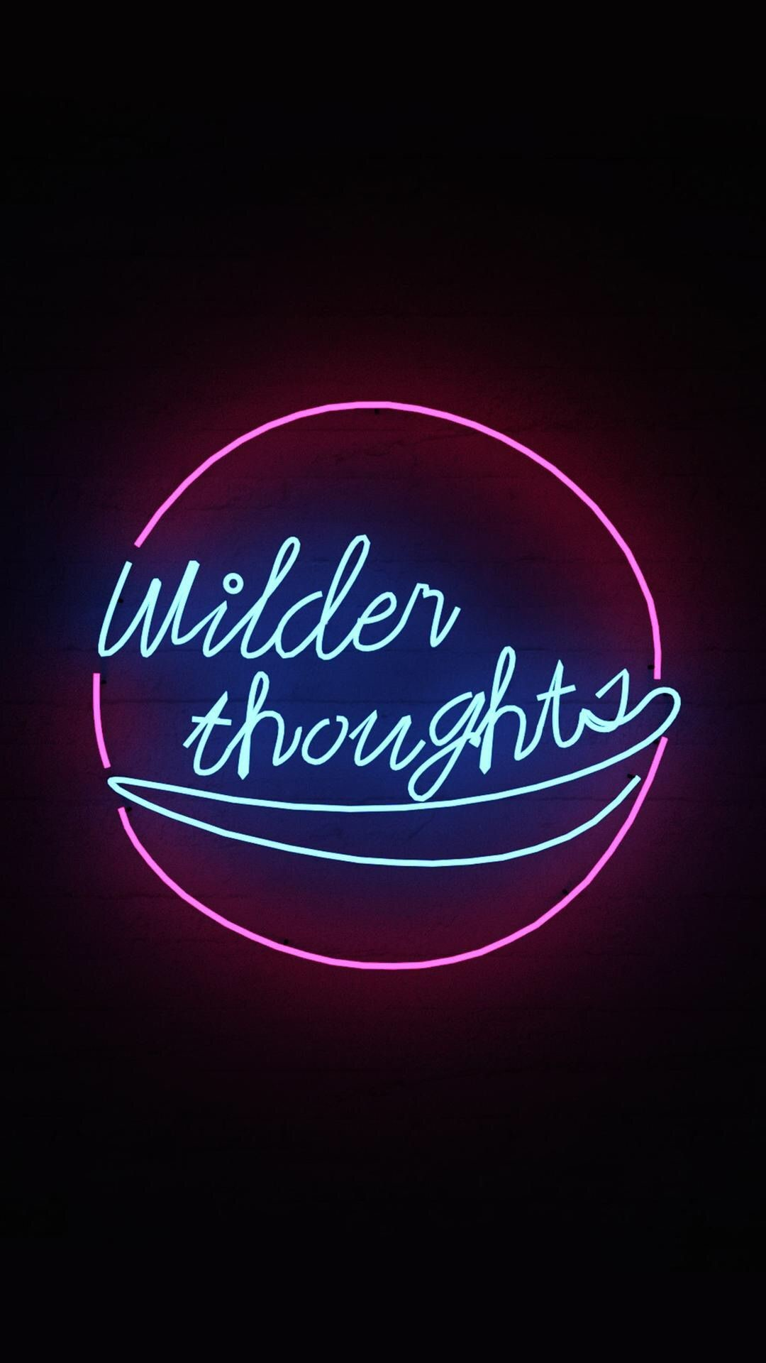 Res: 1080x1920, Neon Words, Neon Aesthetic, Vintage Neon Signs, Wallpaper Quotes, Iphone  Wallpapers, Neon Lighting, Quotation, Unspoken Words, Light Quotes