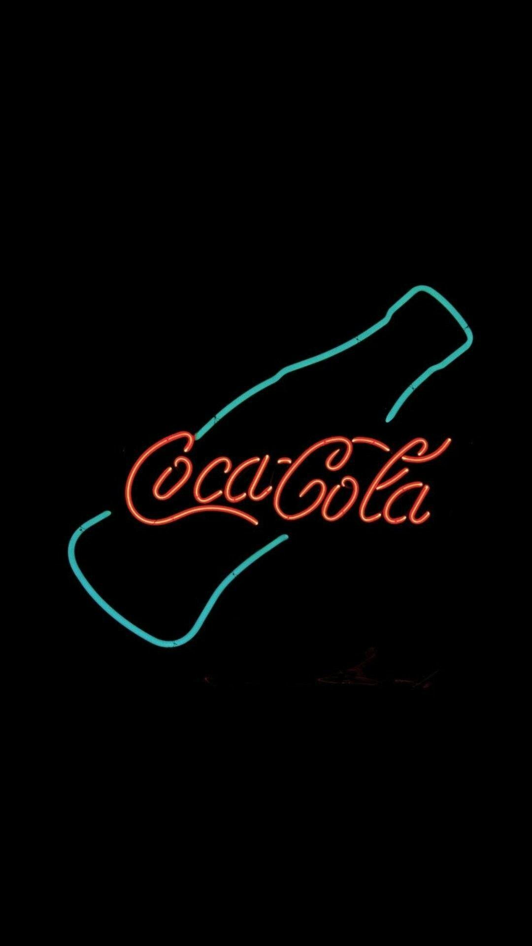 Res: 1080x1920, Coca cola neon sign
