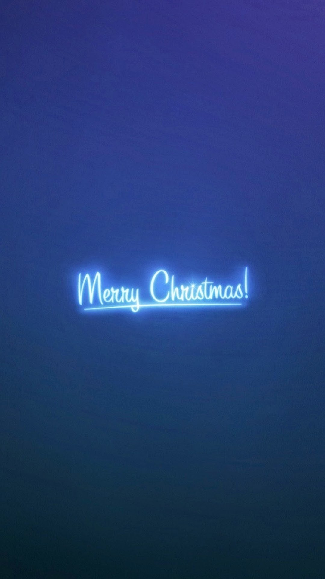 Res: 1080x1920, Click here to download Merry Christmas Neon Blue Light Android Wallpaper  Resolution  pixel