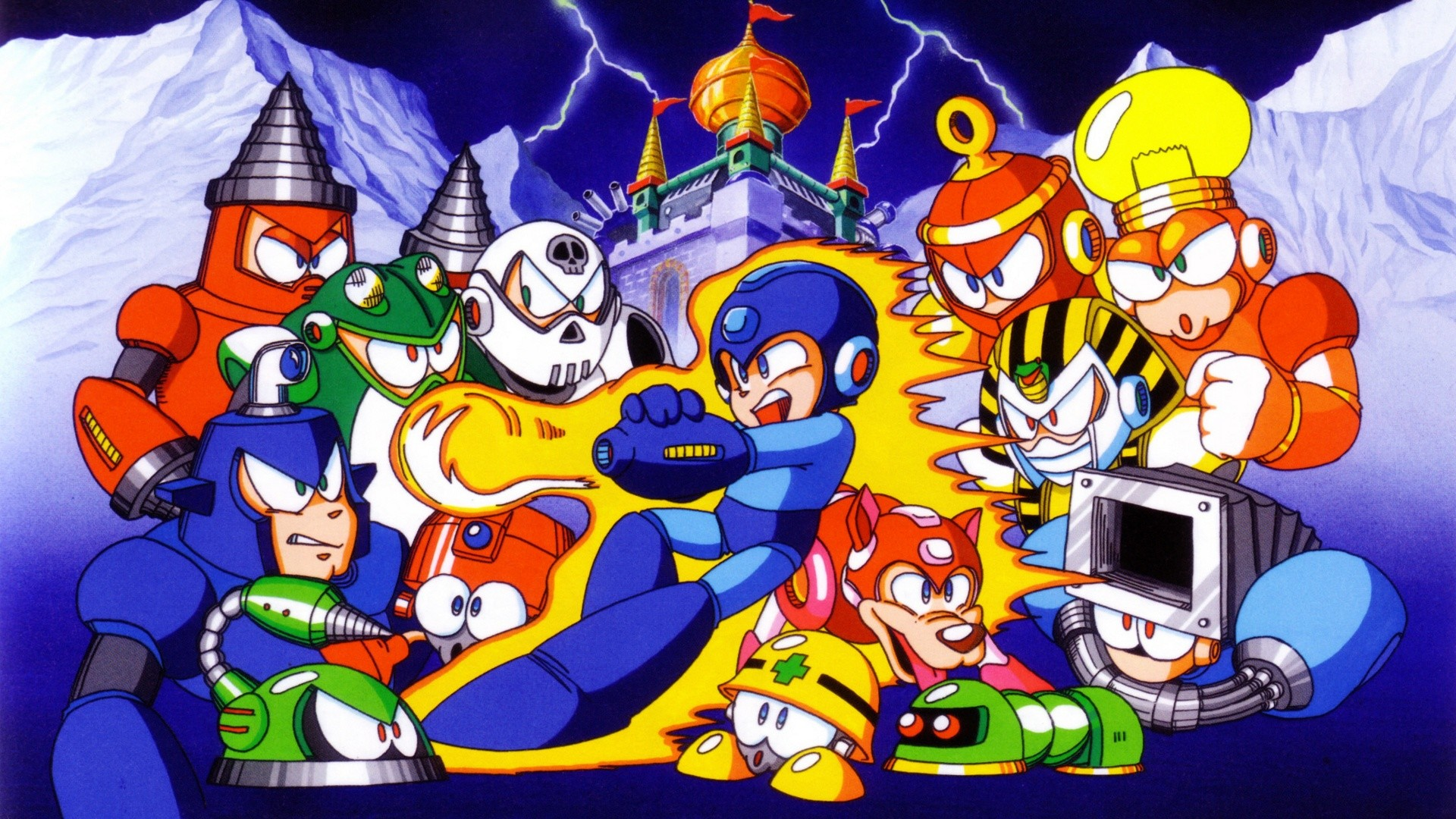 Res: 1920x1080, Mega Man 4 HD Wallpaper | Background Image |  | ID:587801 -  Wallpaper Abyss