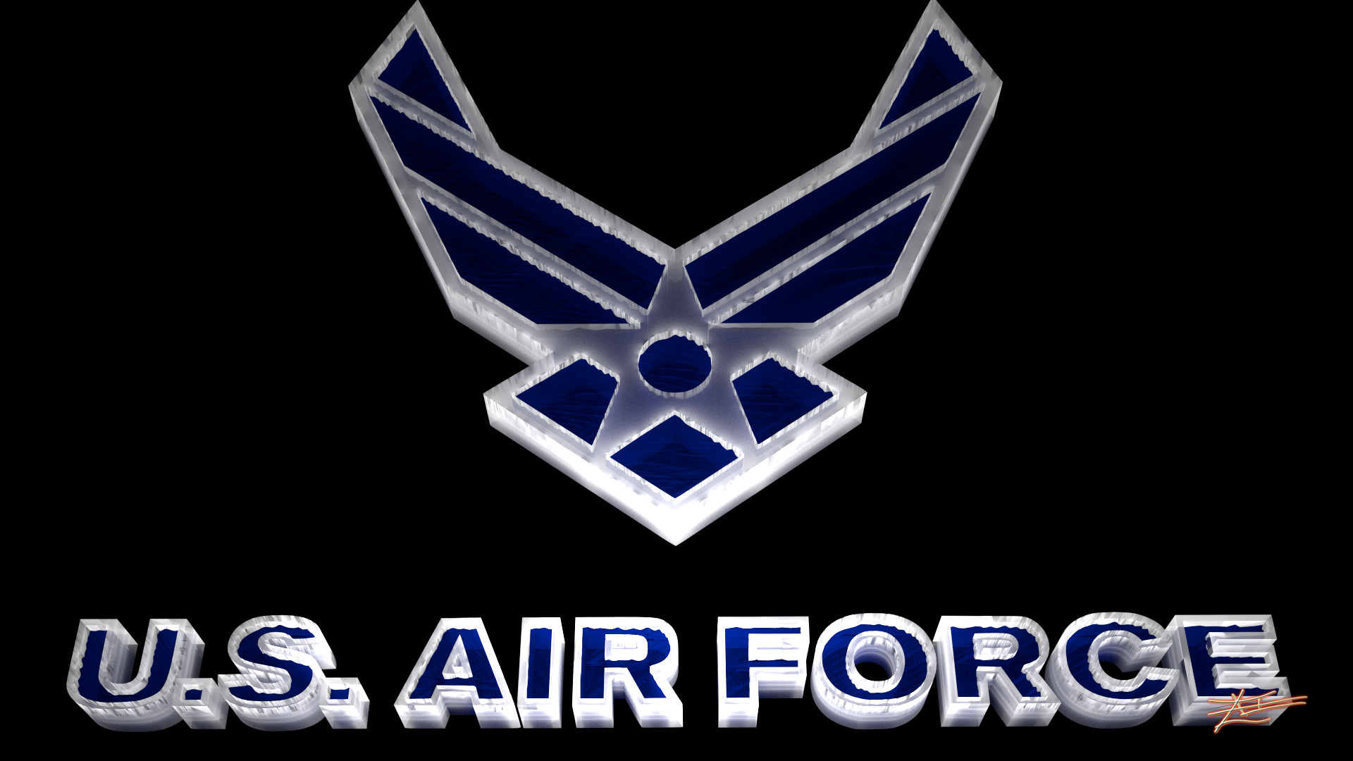 Res: 1920x1080, US Air Force Logo Wallpapers