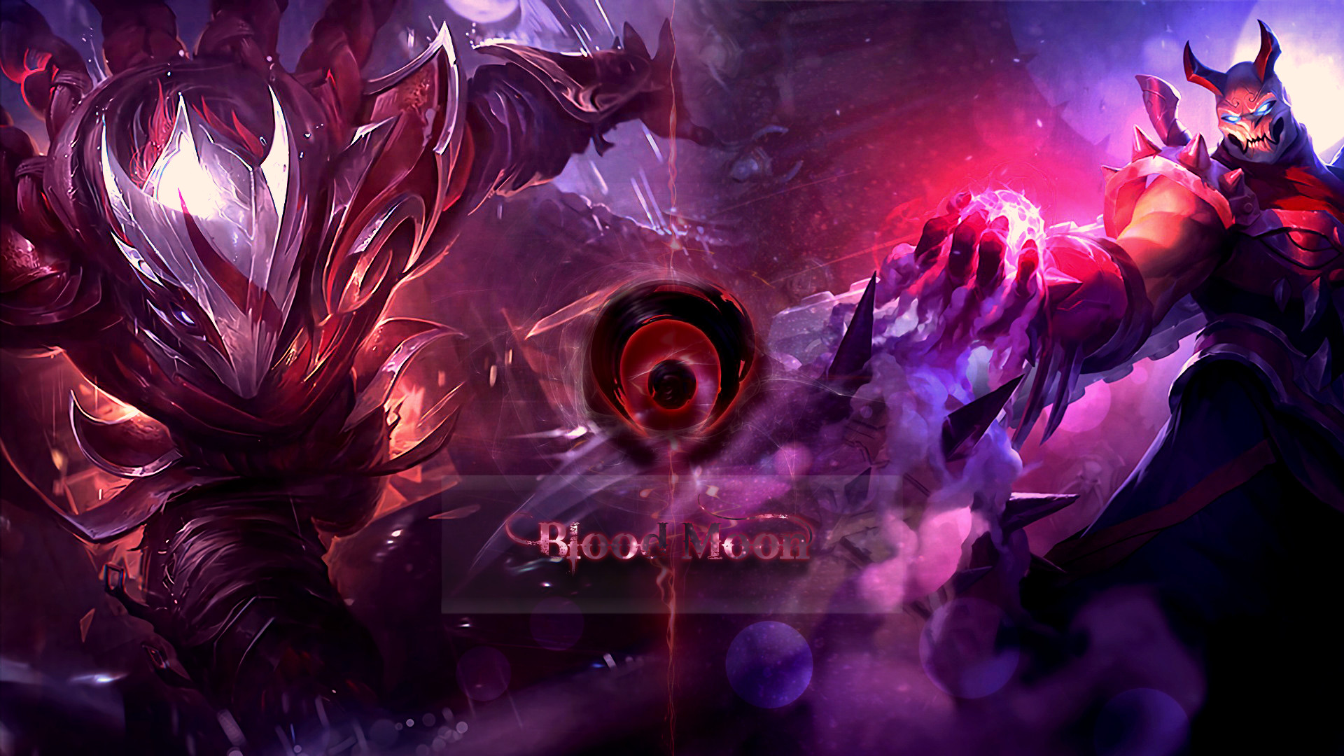 Res: 1920x1080, Another Talon wallpaper Talon and Shen blood moon. ;p ...