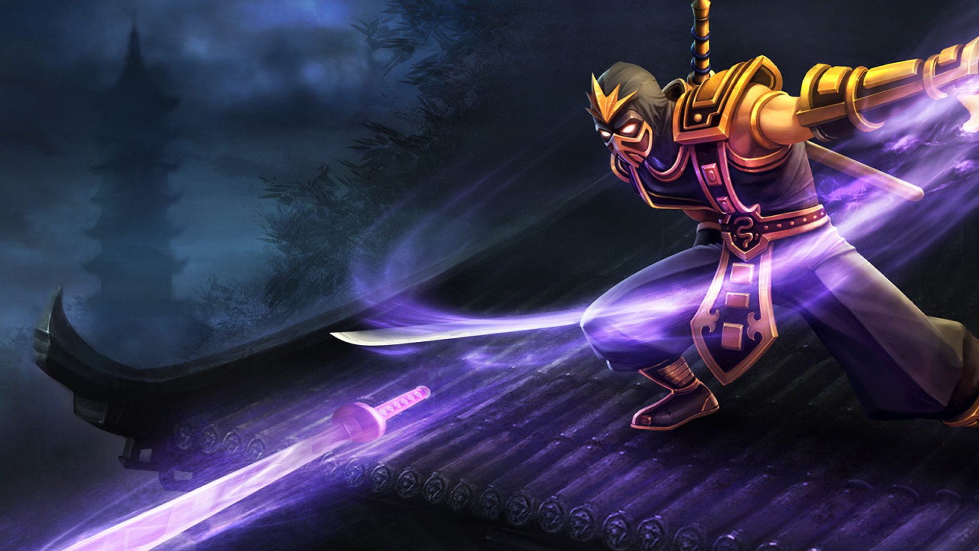 Res: 1920x1080, Yellow Jacket Shen