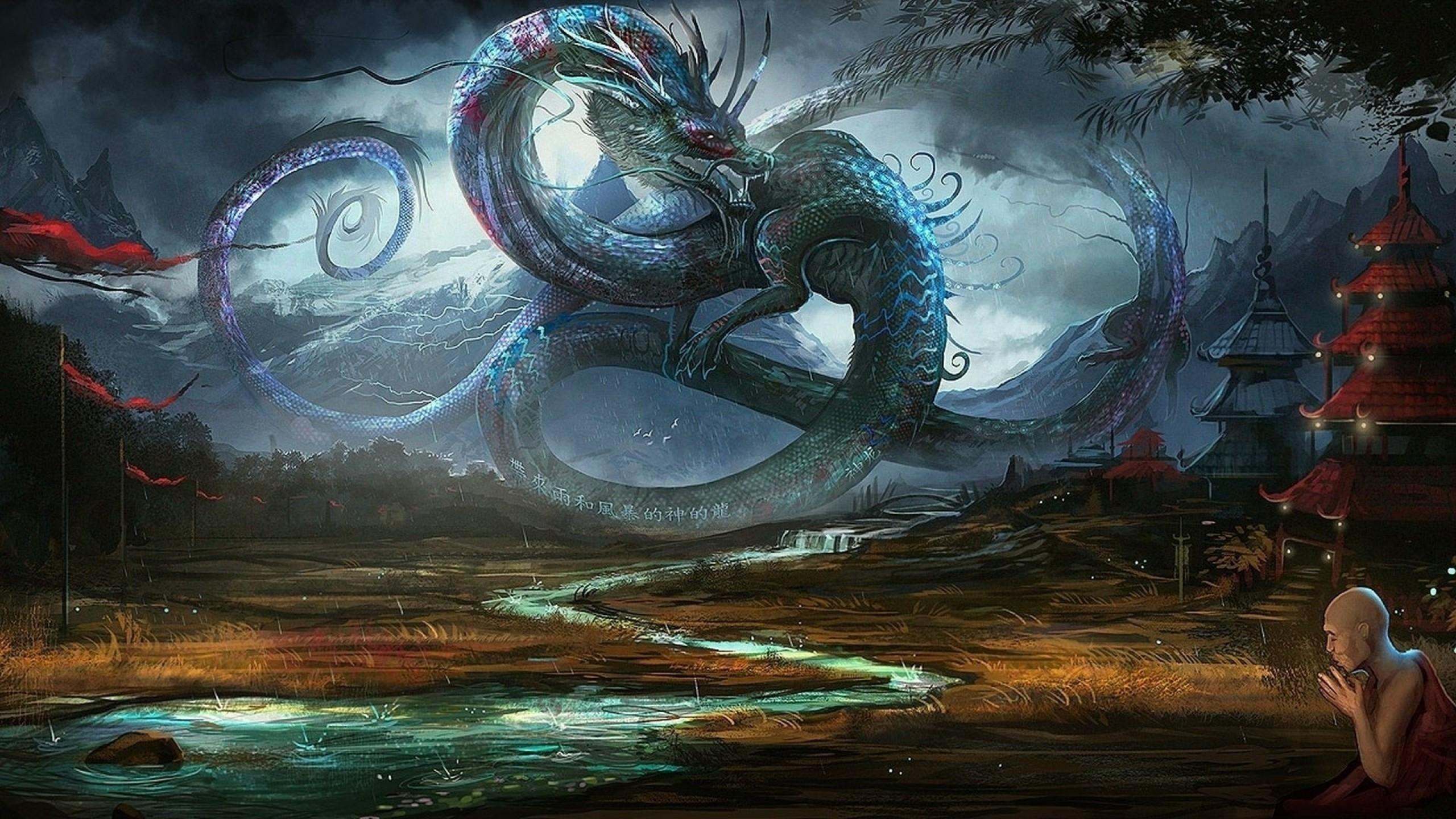 Res: 2560x1440, Shen Long wallpaper