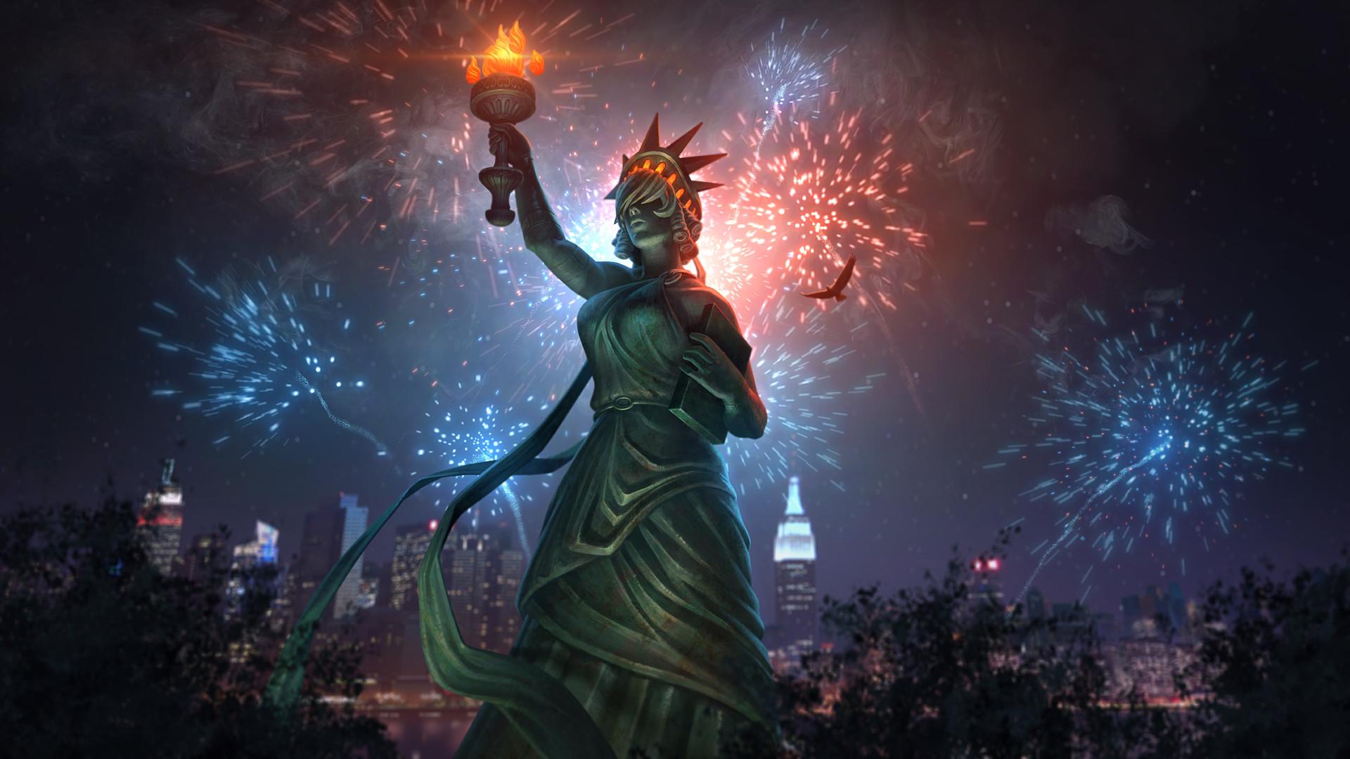 Res: 1920x1080, Lady Liberty Nox Wallpapers