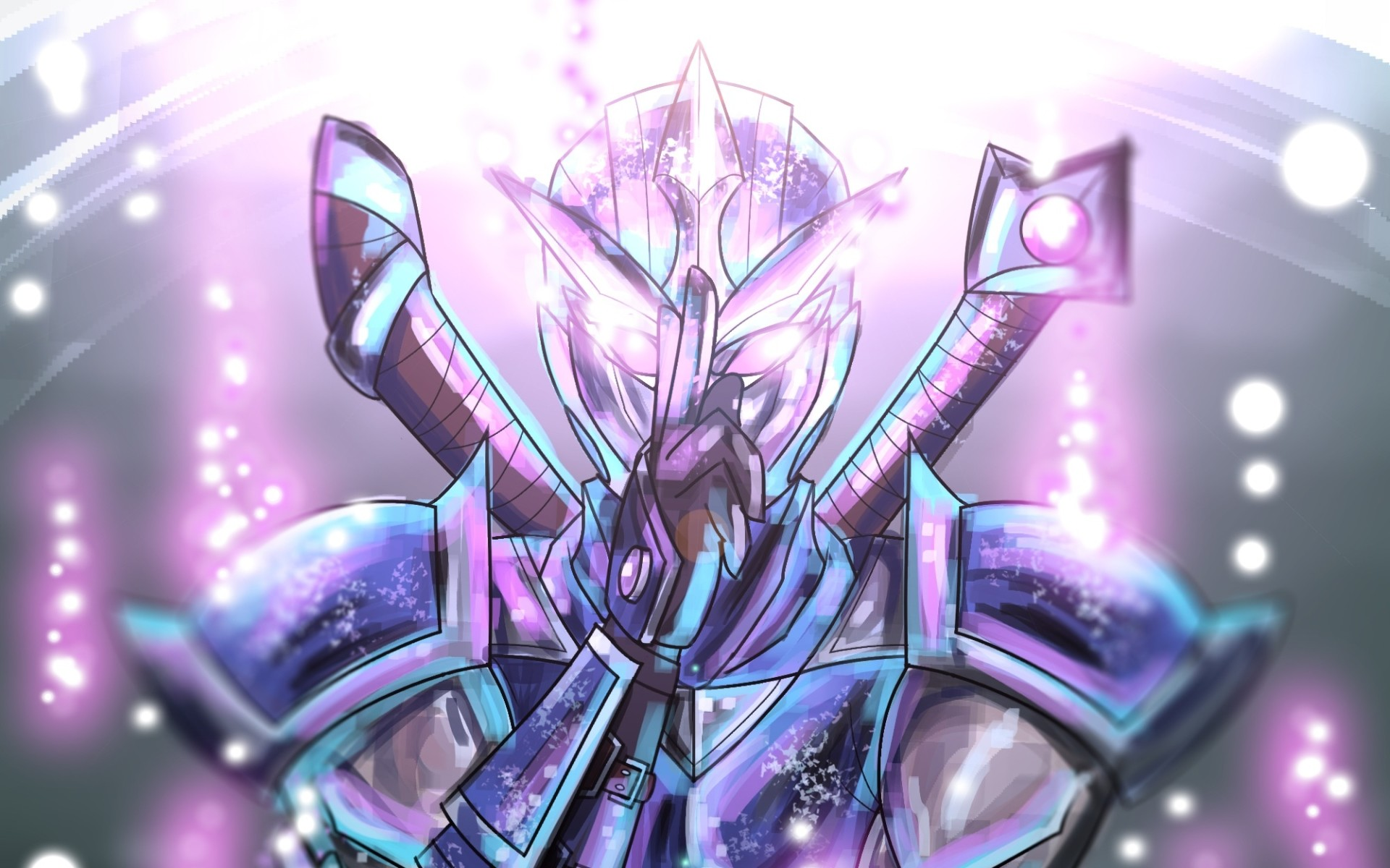 Res: 1920x1200, Shen, MOBA, artwork, warrior, League of Legends