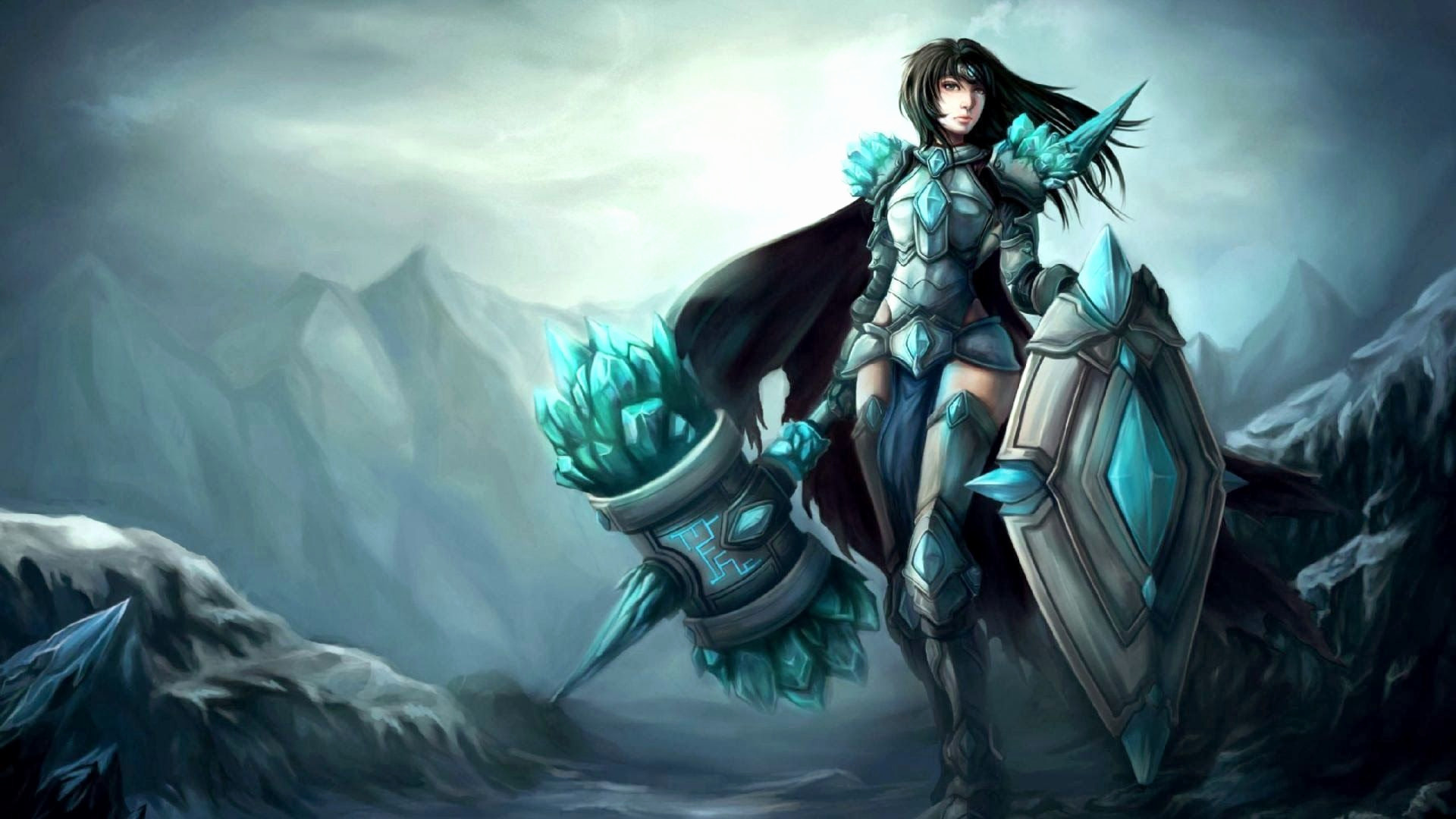 Res: 1920x1080,  Awesome Shen Wallpapers Art Hd League Of Legends Wallpaper