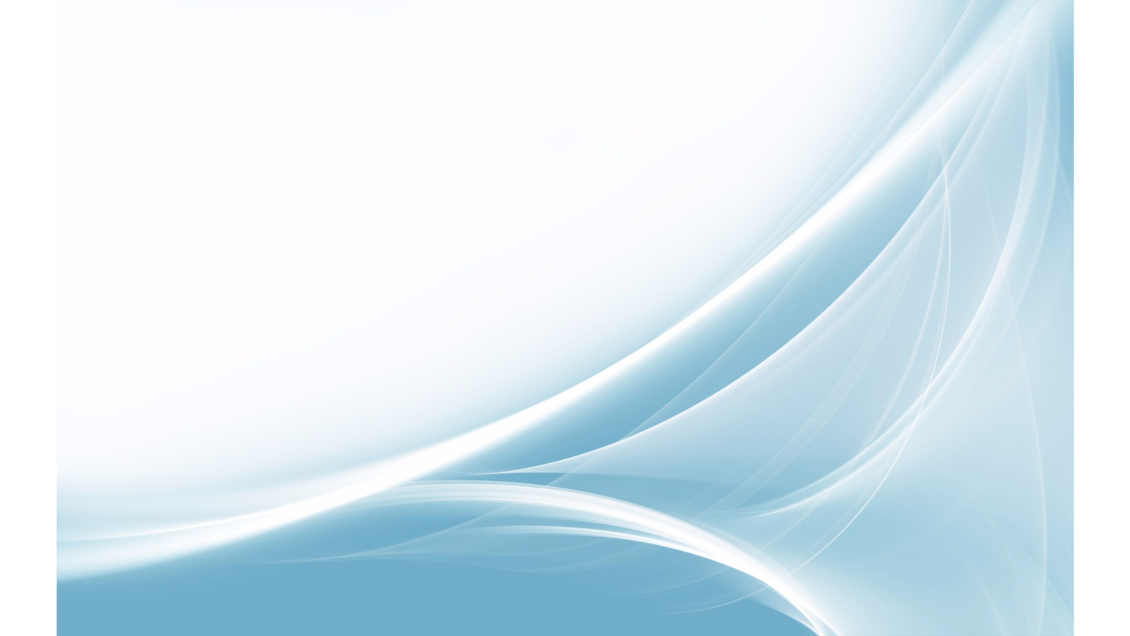 Res: 3840x2160, Blue and White Abstract 4K Wallpaper