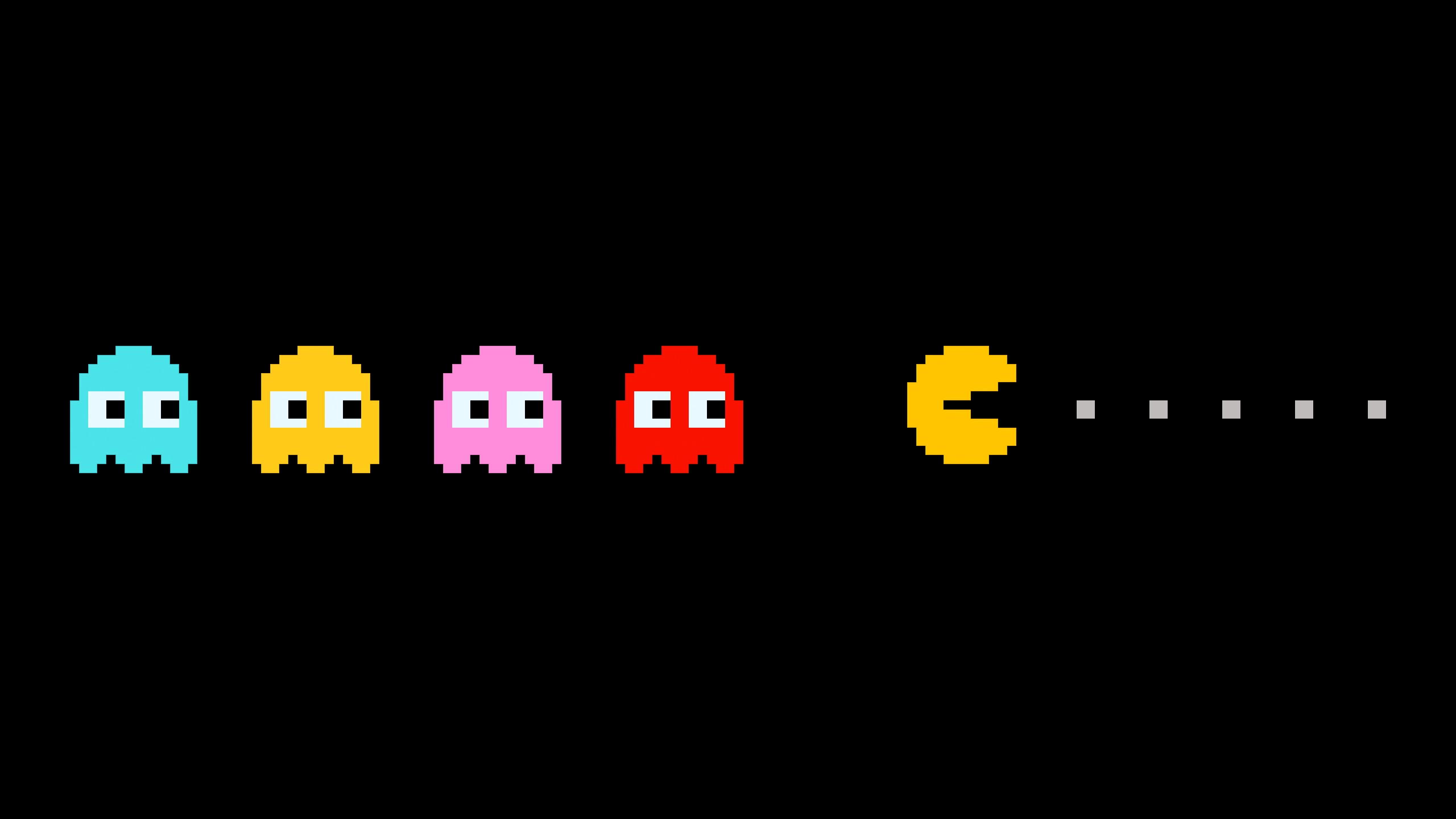 Res: 2560x1440, Pacman Games Wallpaper HD For Desktop | WALLSISTAH.COM