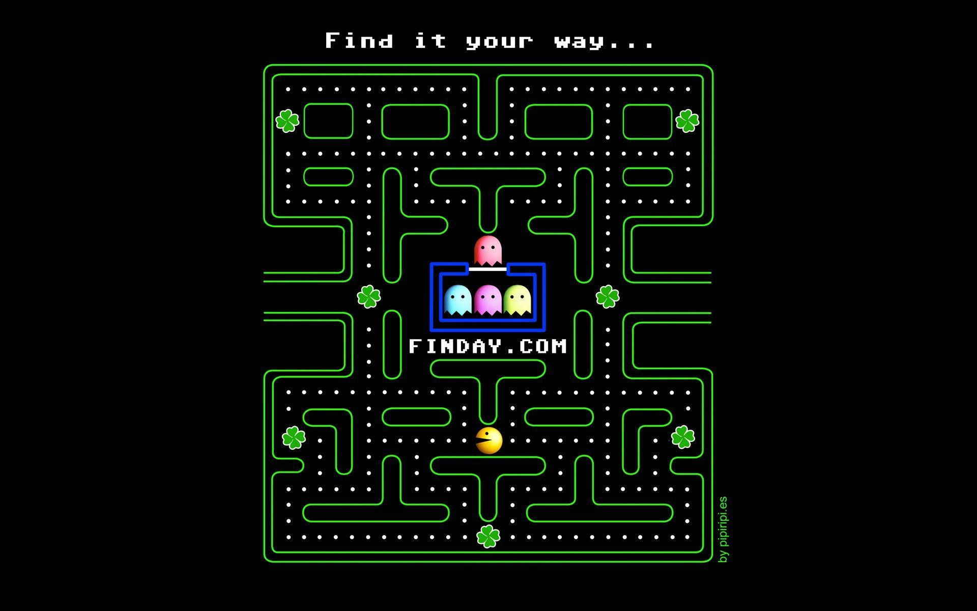 Res: 1920x1200, Most Downloaded Pacman Wallpapers - Full HD wallpaper search