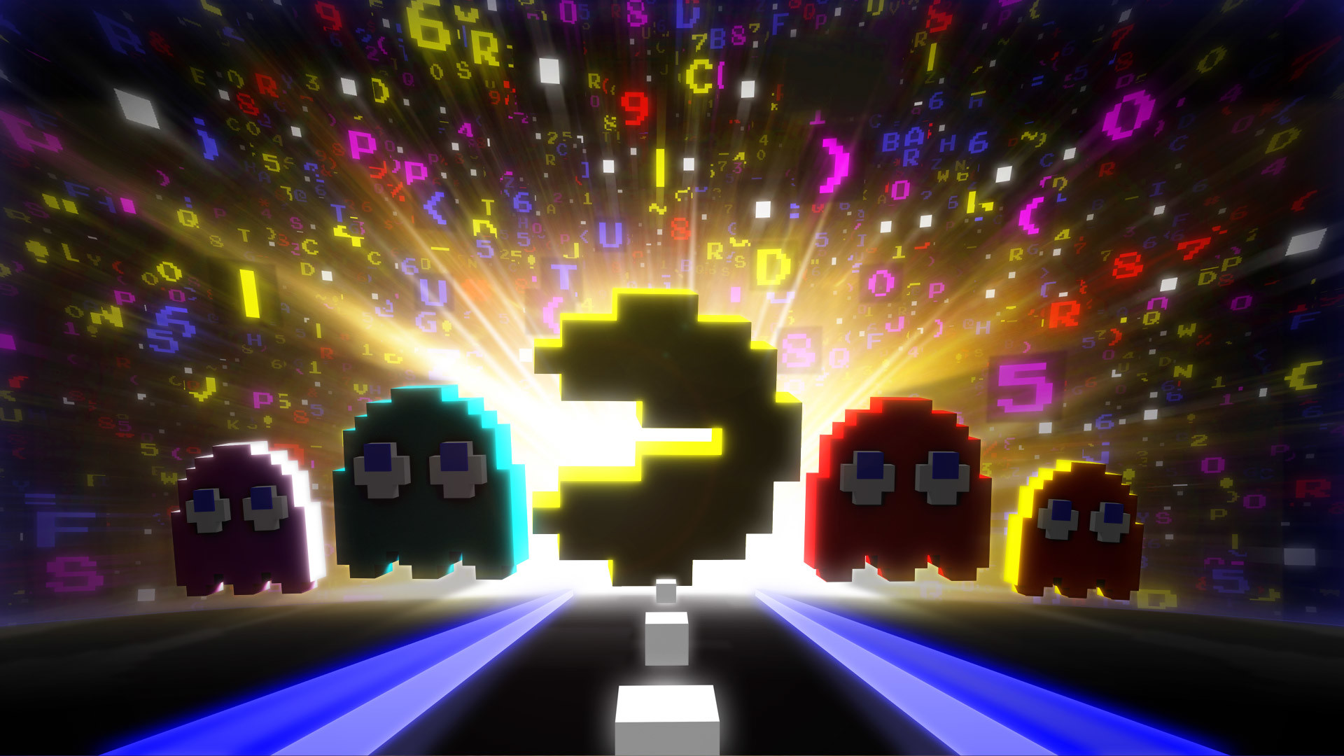 Res: 1920x1080, Pacman 256