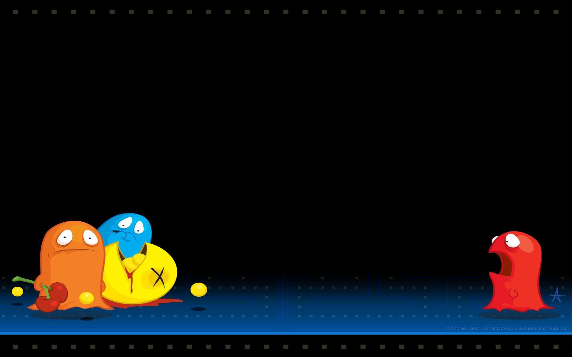 Res: 1920x1200, PC Pac Man Wallpapers, Emlyn Lambeth
