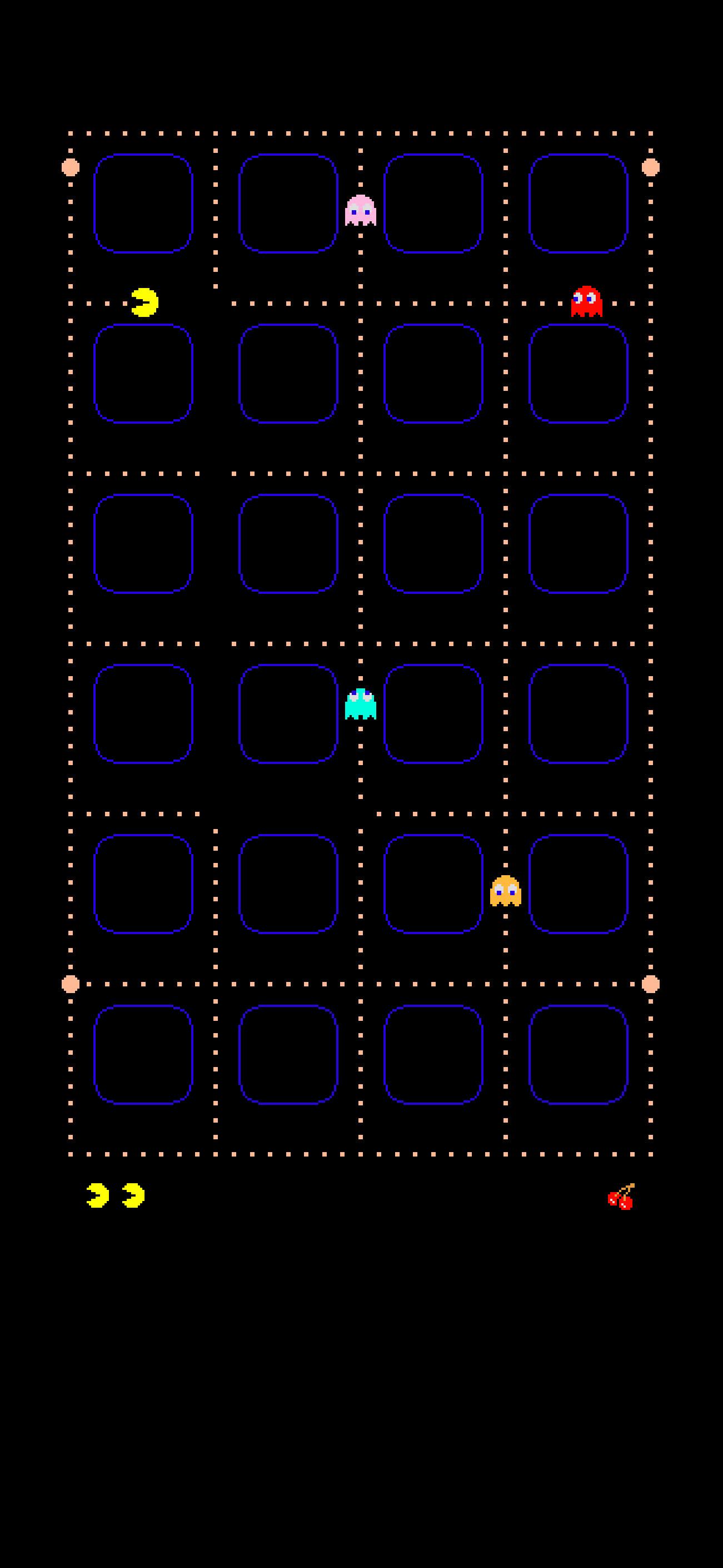 Res: 1301x2820, Pac-Man iPhone Wallpaper